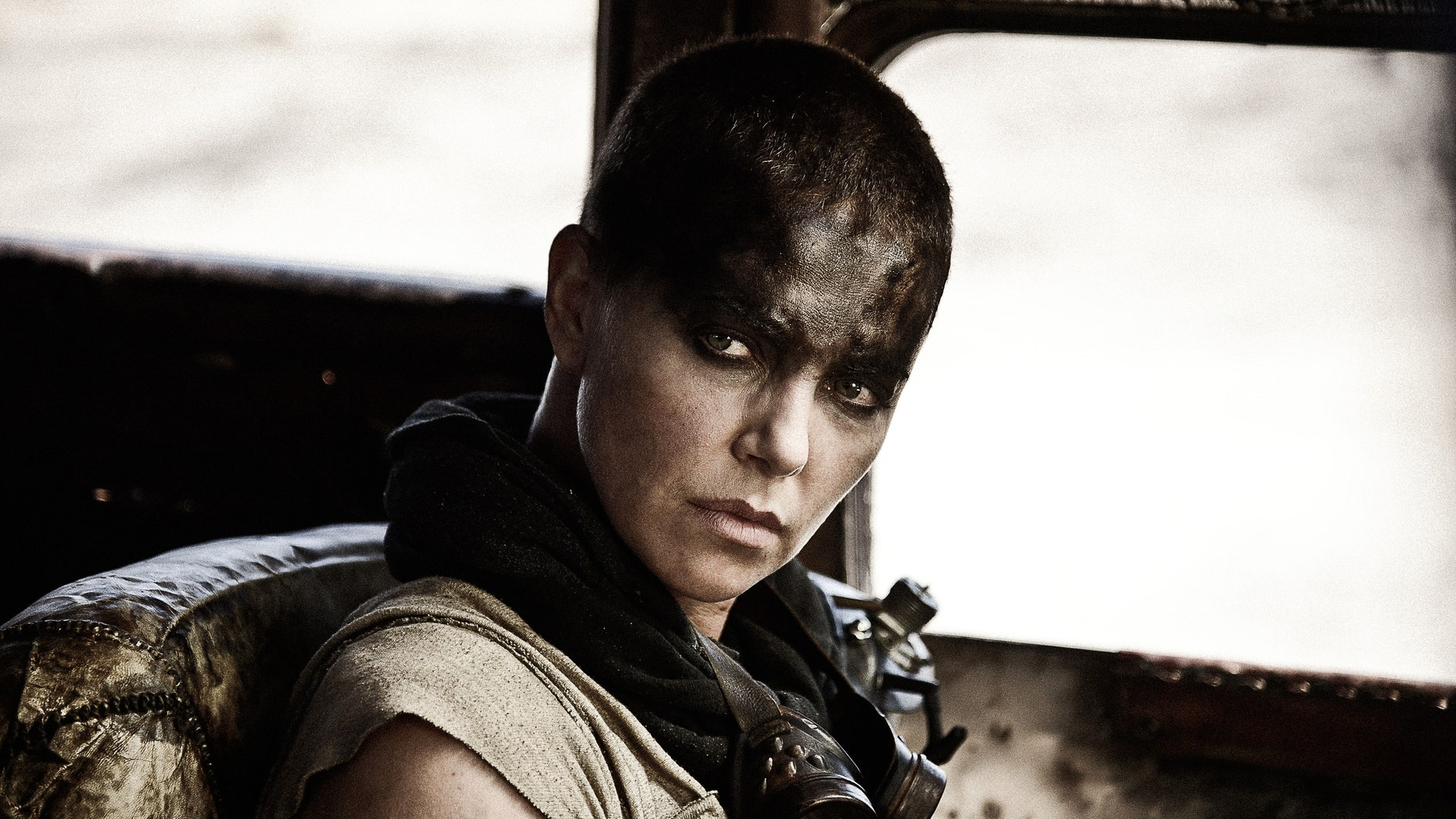 "Charlize Theron as Imperator Furiosa in ""Mad Max: Fury Road"""