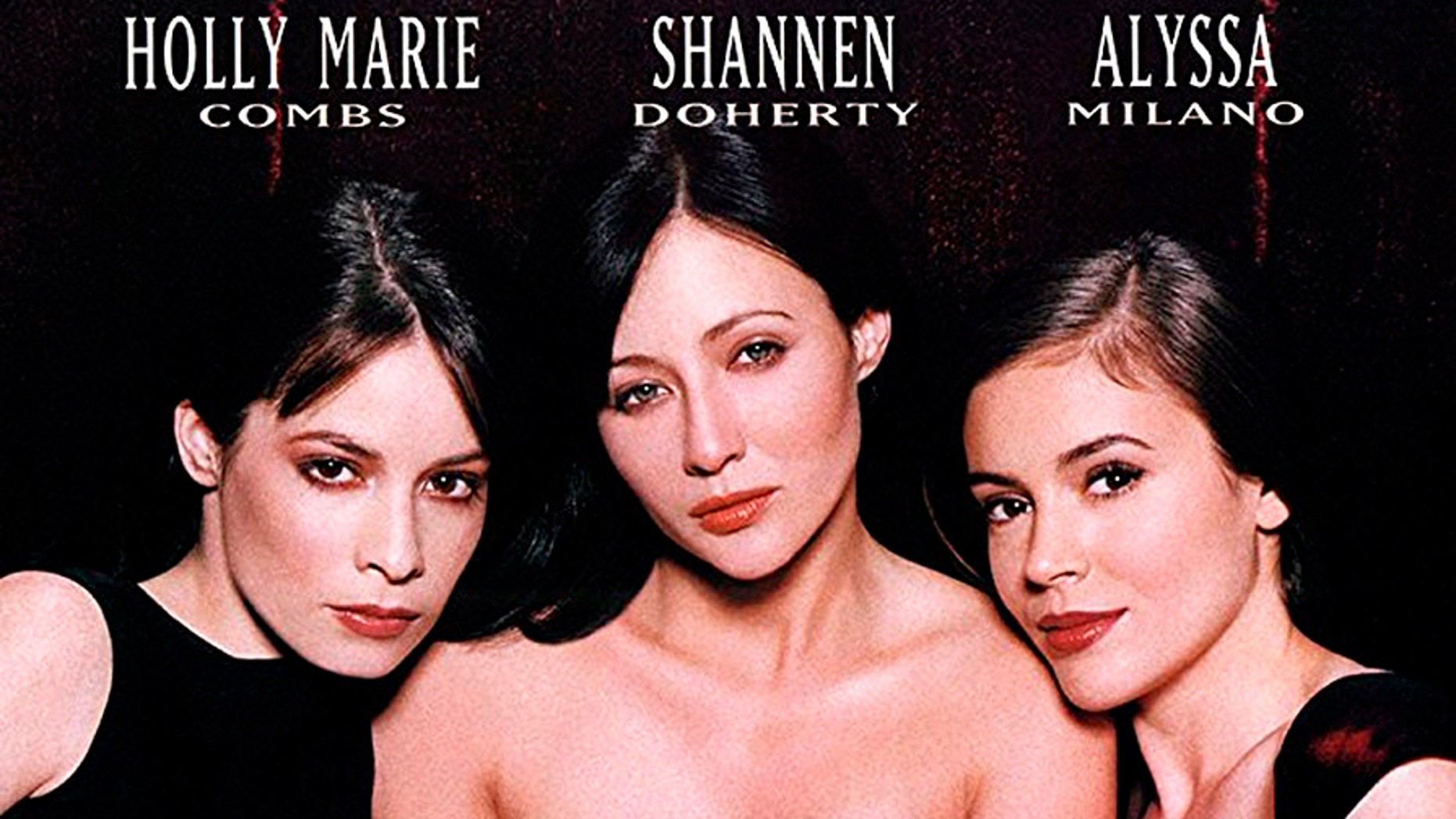 """The original cast of 'the WB series """"Charmed,"""" featured Holly Marie Combs, Shannen Doherty and Alyssa Milano."""