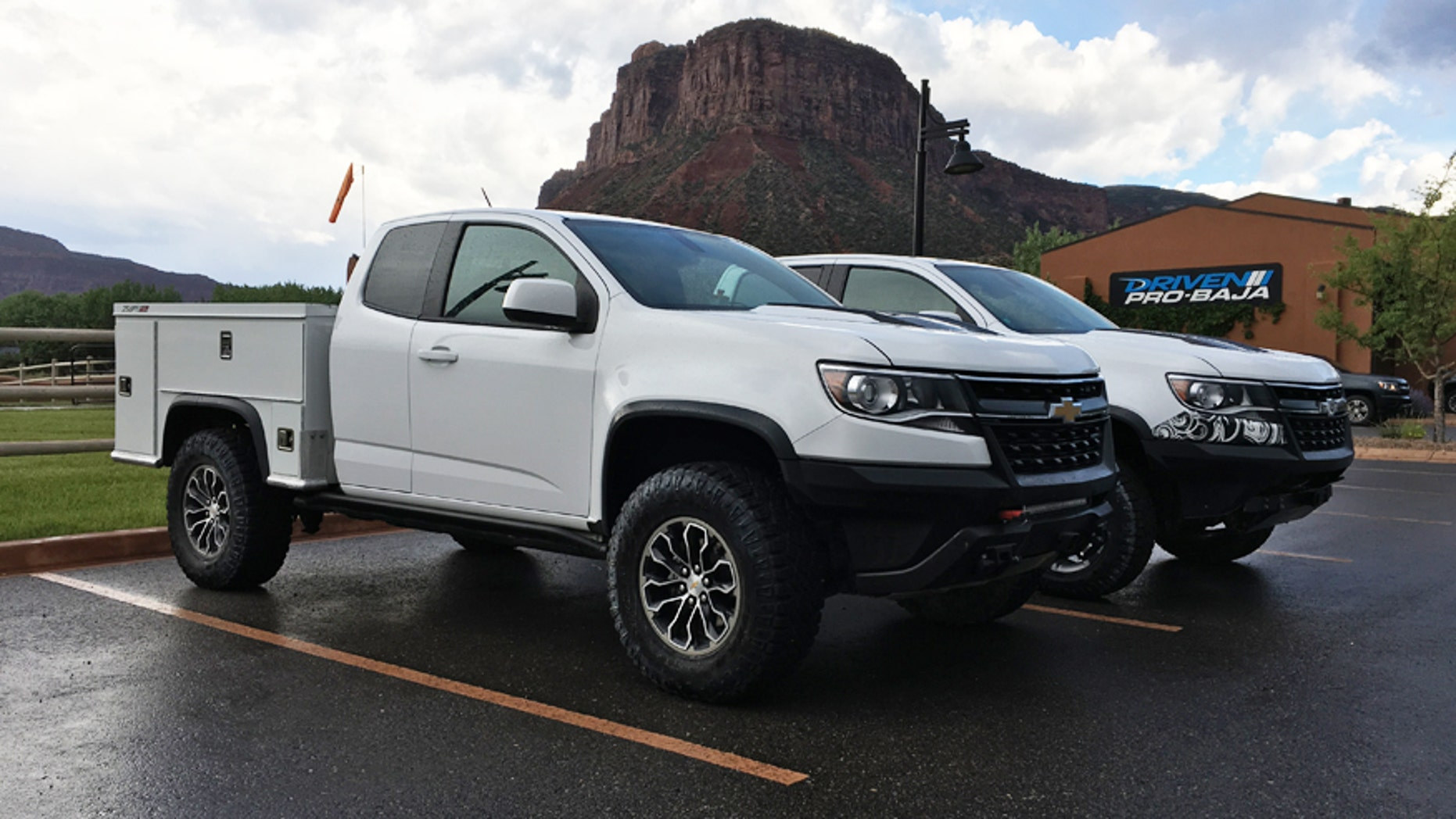 Chevy Turned The Colorado Zr2 Into The Ultimate Off Road
