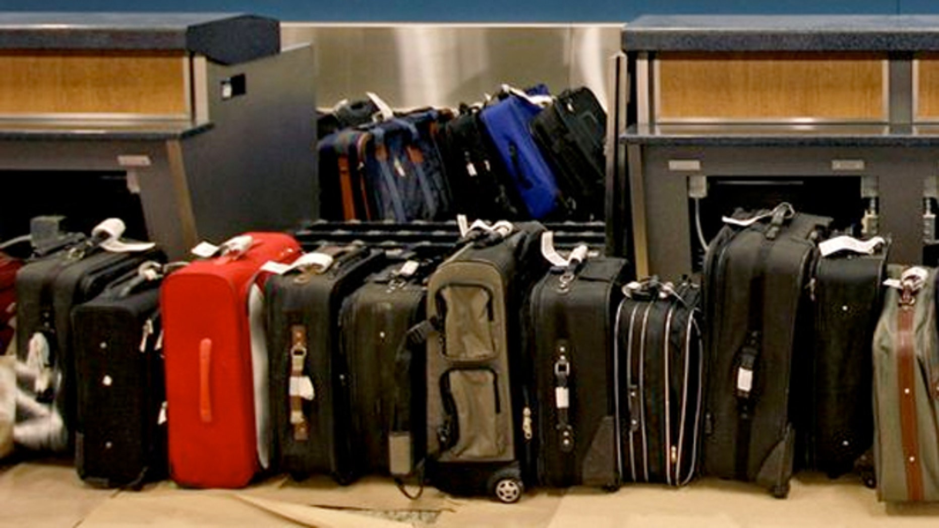 Airlines collected $3.5 billion in baggage fees in 2014.