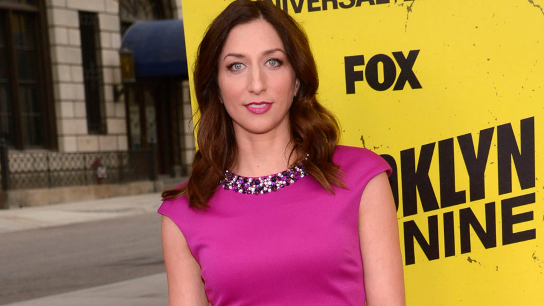 """Cast member Chelsea Peretti attends an event for the television comedy """"Brooklyn Nine-Nine"""" in Los Angeles May 22, 2014. REUTERS/Phil McCarten (UNITED STATES - Tags: ENTERTAINMENT) - RTR3QGRY"""