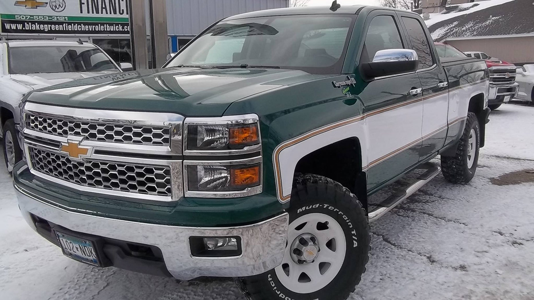 Blake Greenfield Chevrolet Buick has turned the Silverado into a time machine with a retro Cheyenne Super 10 package.
