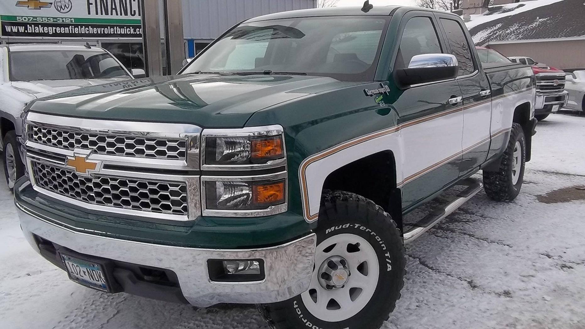 Break out the bell bottoms because a Chevrolet dealer resurrected
