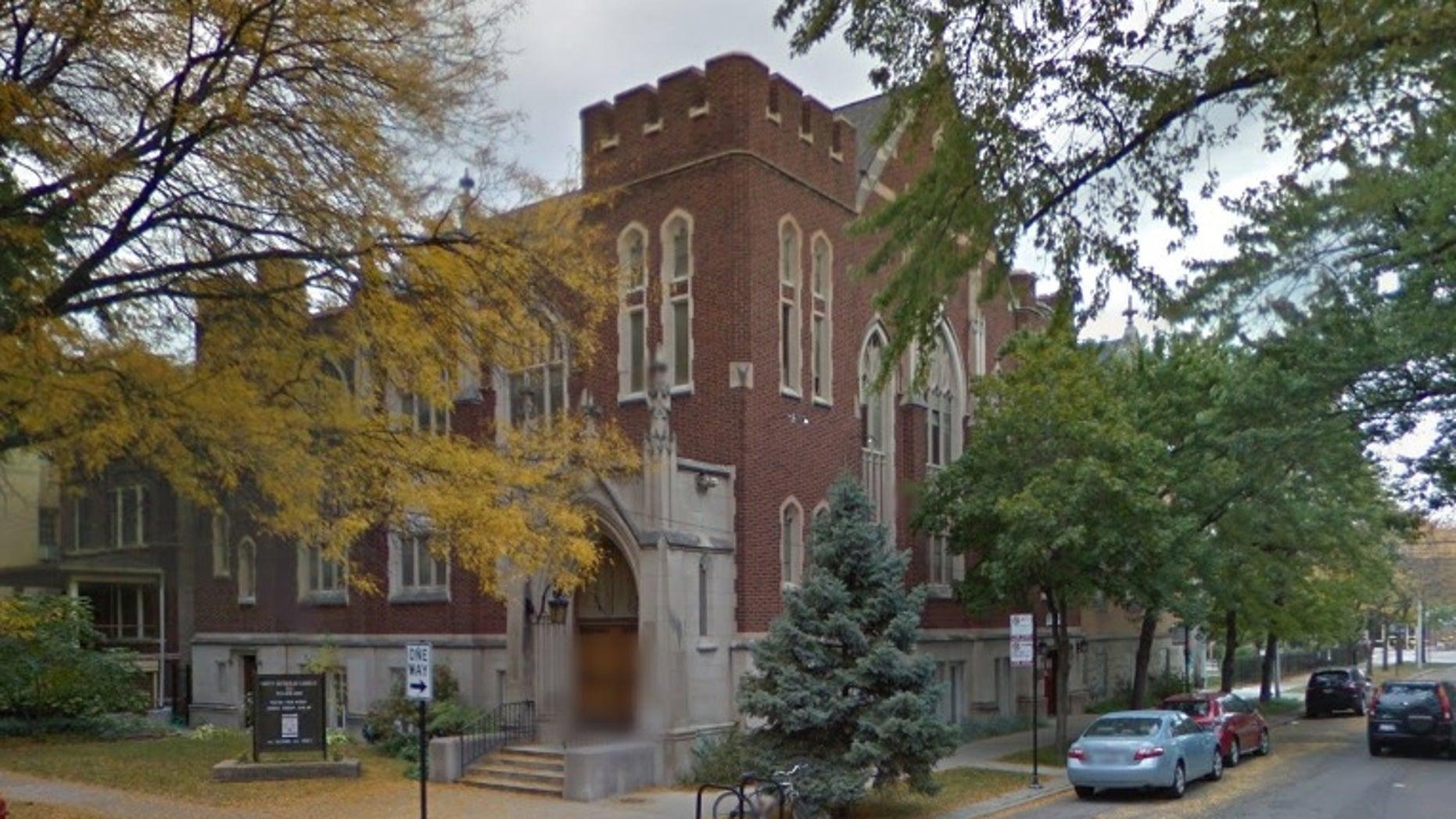 Unity Lutheran Church in Chicago's Edgewater neighborhood.