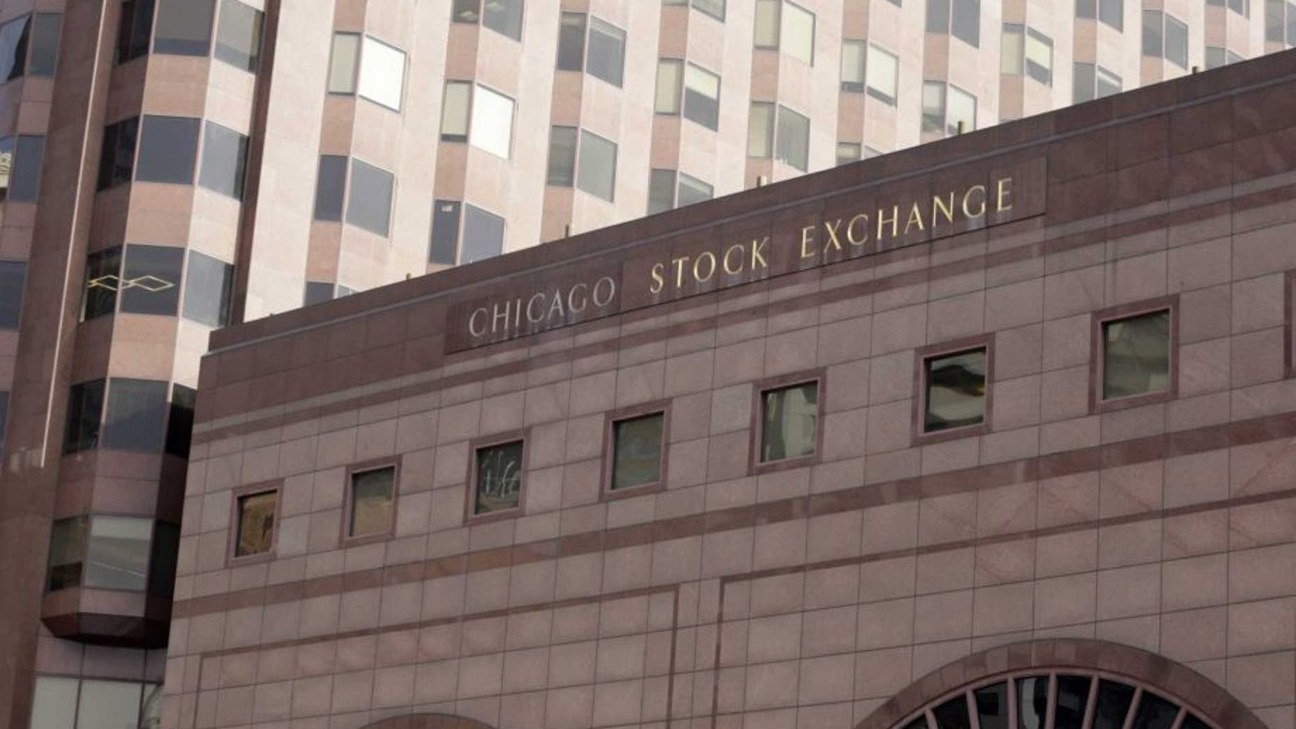FILE -- Feb. 5, 2016: the building that houses the Chicago Stock Exchange in Chicago.  (AP)