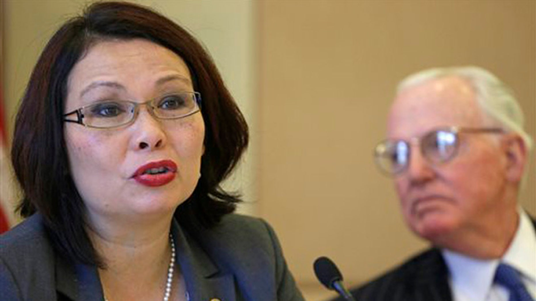 July 31, 2015: Congresswoman Tammy Duckworth and Chicago Alderman Ed Burke appear before the City Council's finance committee. The committee voted to recommend an ordinance requiring the cities airports to provide rooms where mothers can breast feed and use breast pumps.