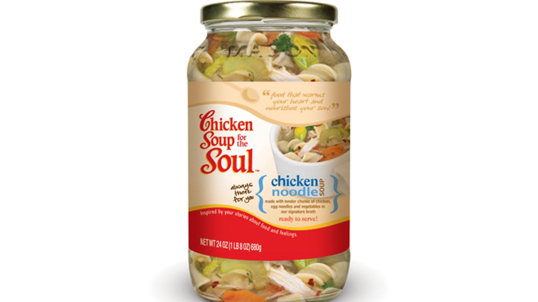 Chicken Noodle Soup.  (PRNewsFoto/Chicken Soup for the Soul Foods LLC)