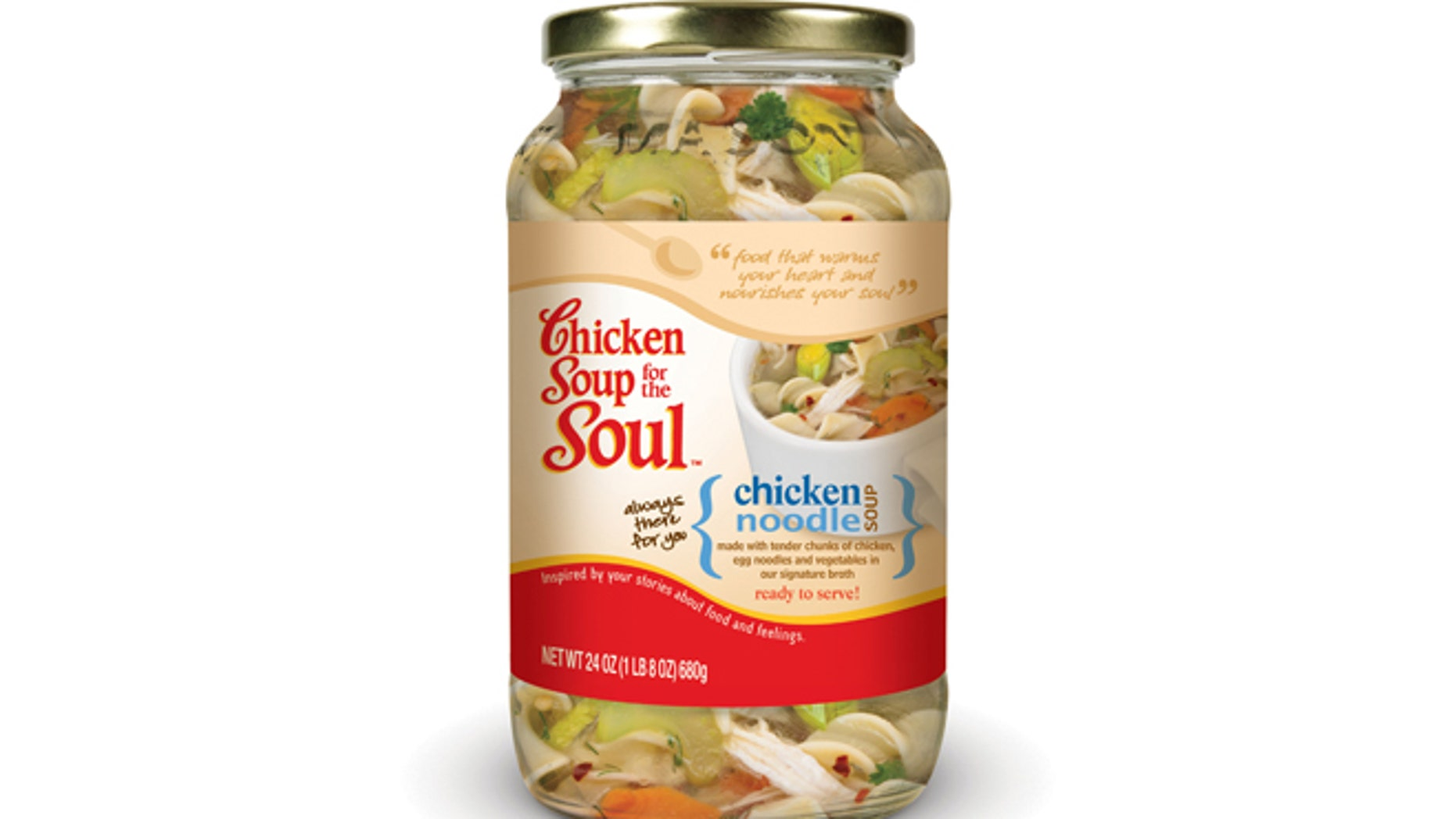 Chicken Noodle Soup.  (PRNewsFoto/Chicken Soup for the Soul Foods LLC)