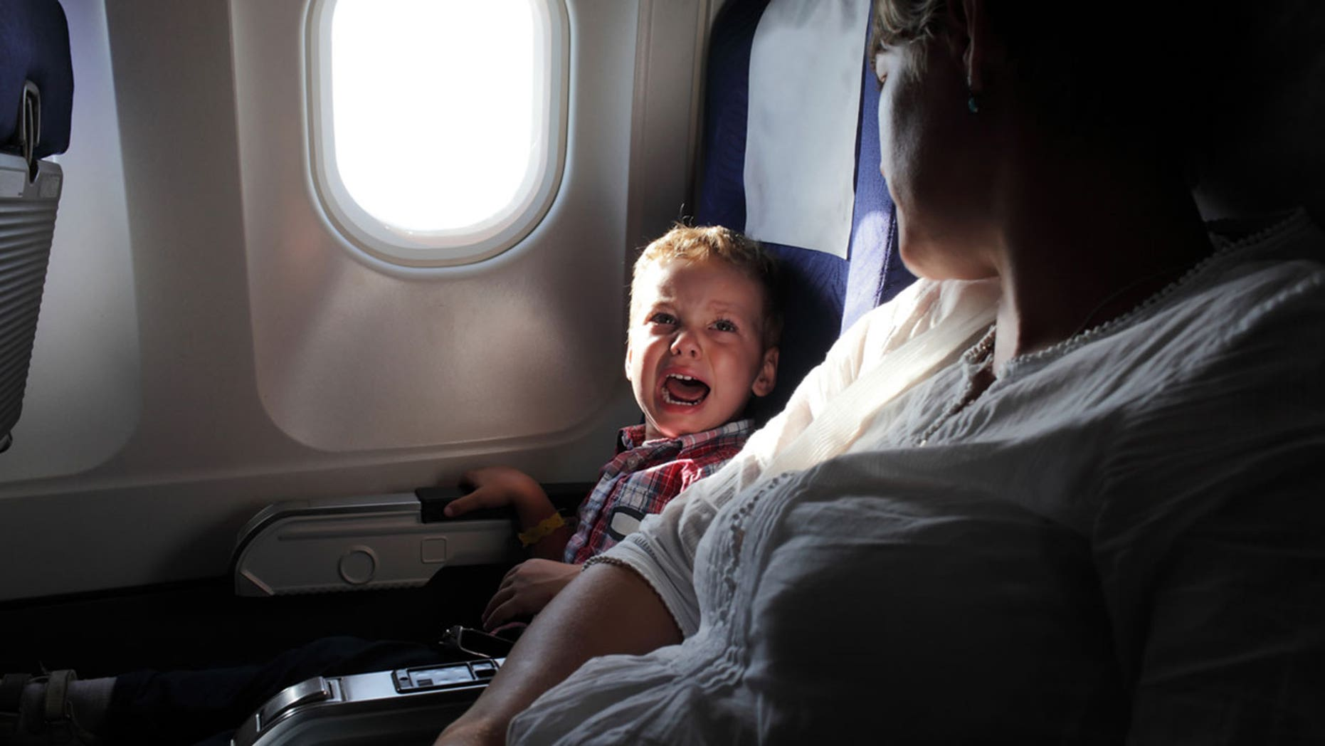 A few airlines have instituted no-children-allowed policies in certain areas of the plane.