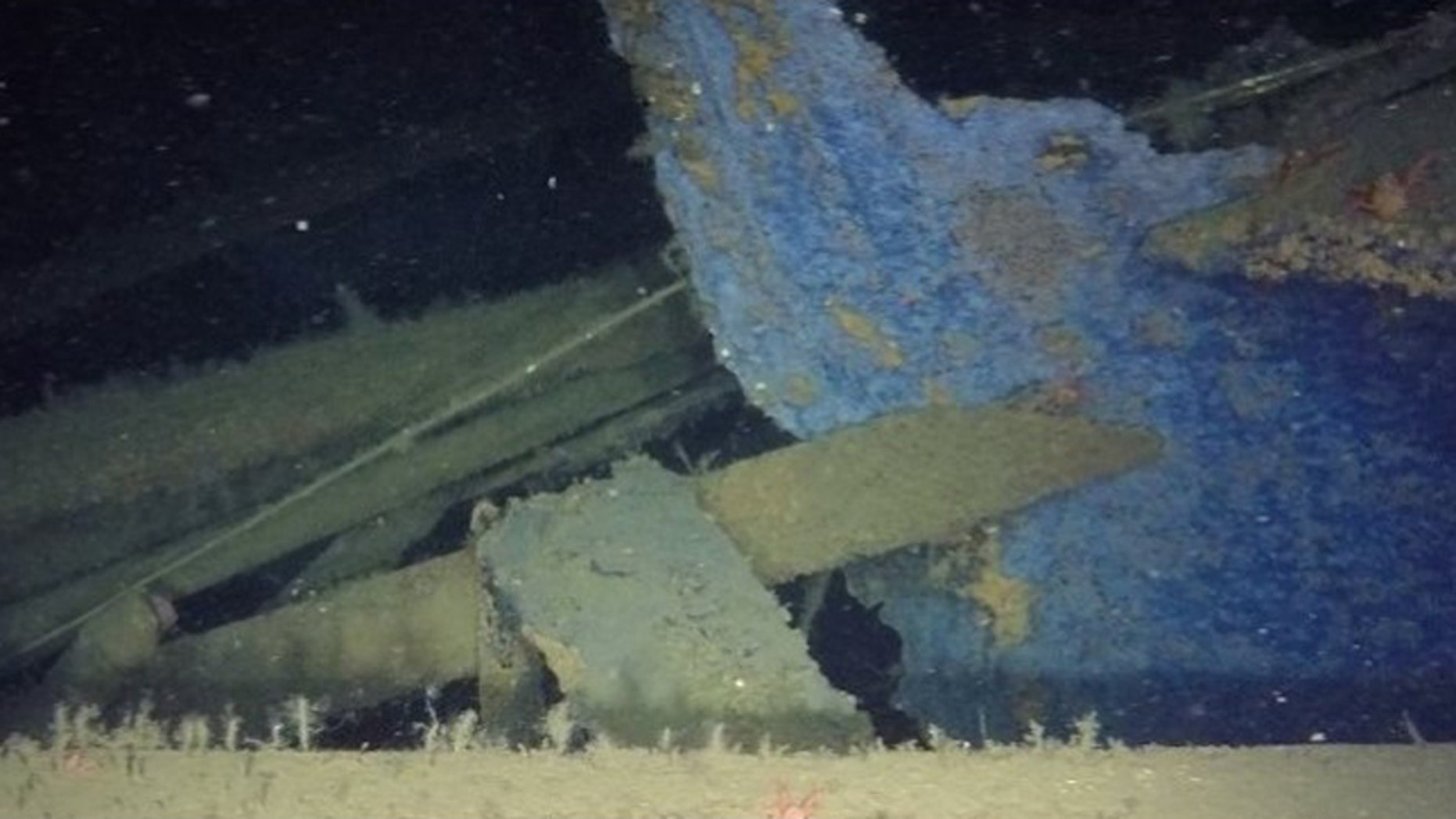 "An image of the Itata, the ""Chilean Titanic"" that sank in 1922 (Oceana/UCN/Producciones Silvestre)"