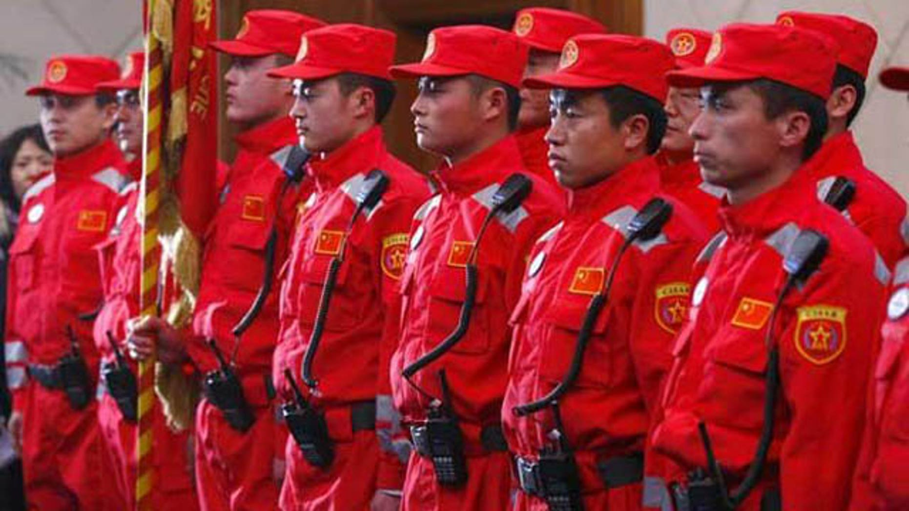 Deep seeded anti-Japanese sentiment in China has sparked anger by some over Beijing's relief efforts to Japan, which include this rescue team set to deploy.
