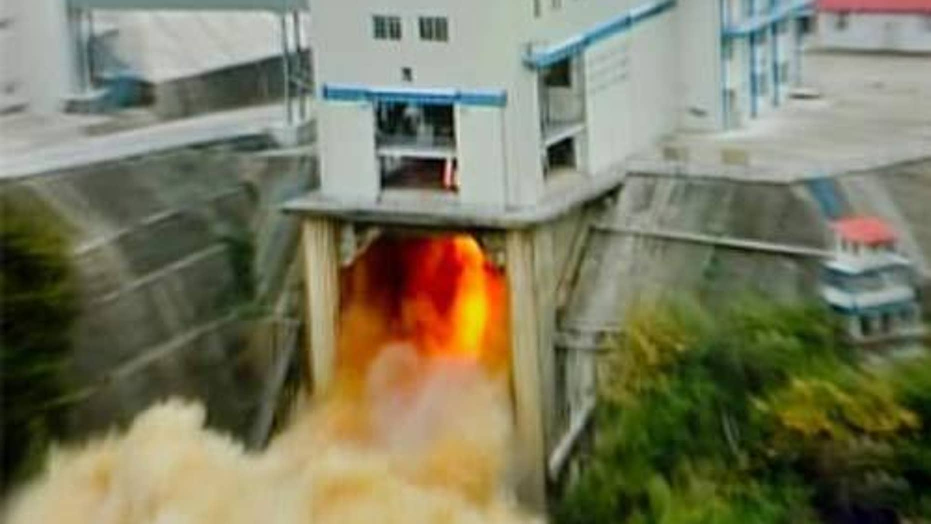 China tested a new liquid oxygen and kerosene engine for its planned Long March-5 rocket on July 29, 2012.