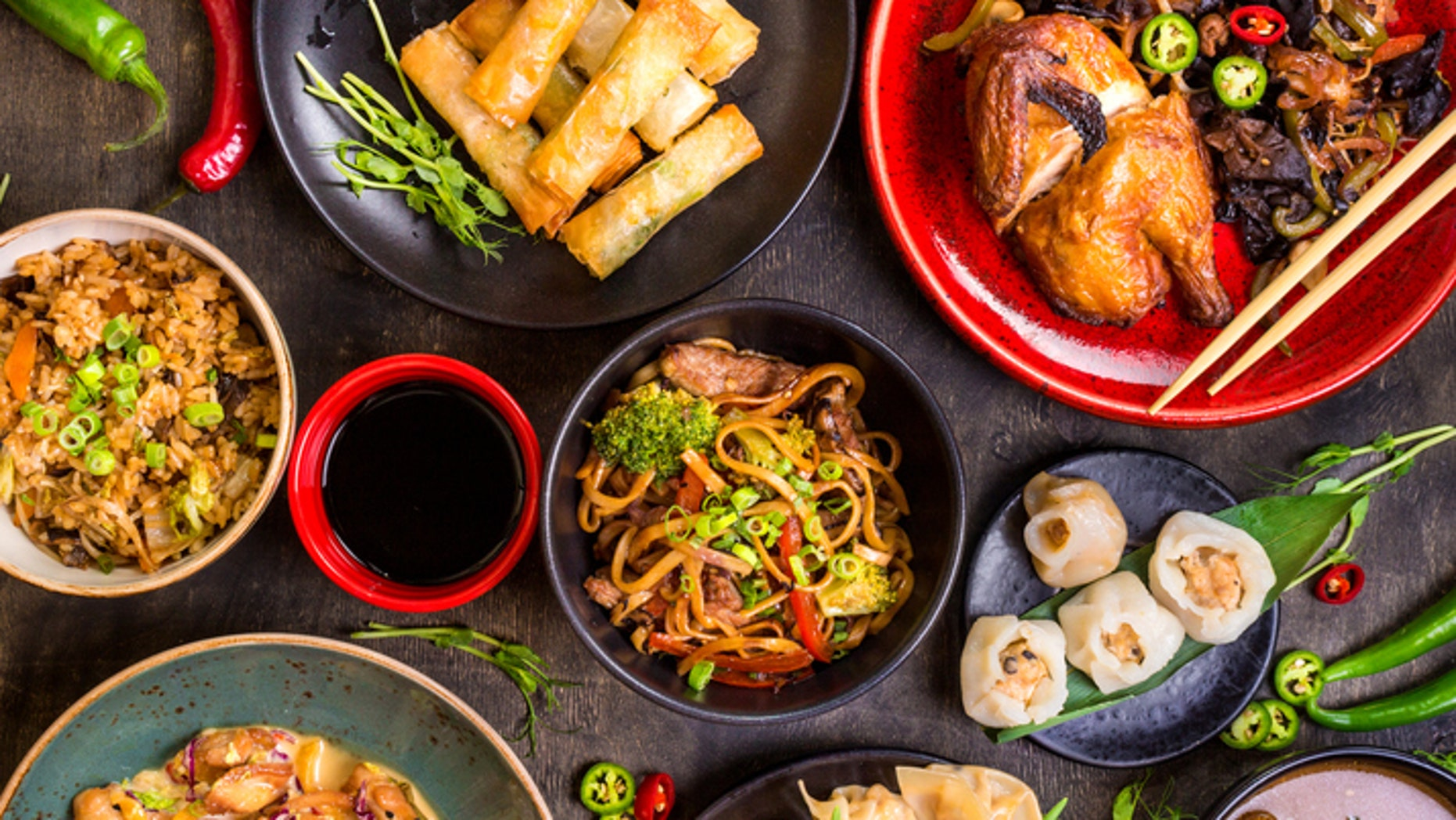 There's a story behind the Chinese food at P.F. Chang's.