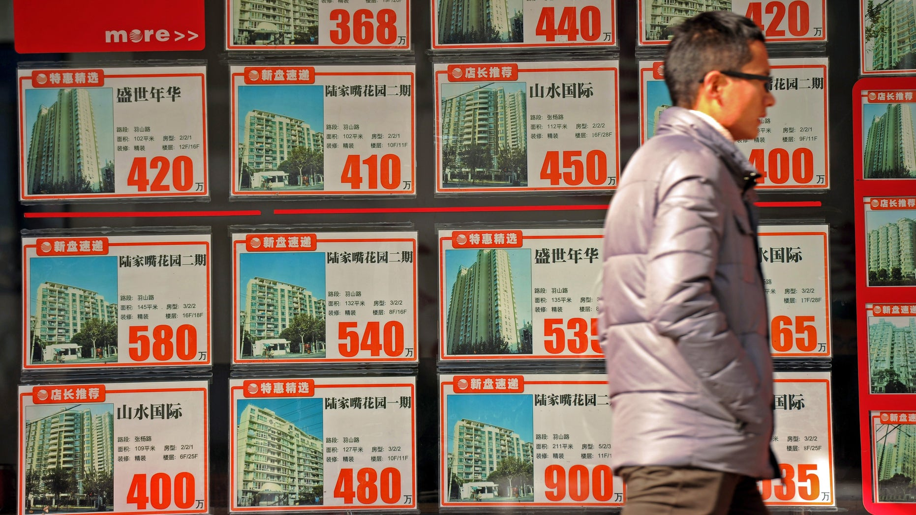 Chinese real estate listings
