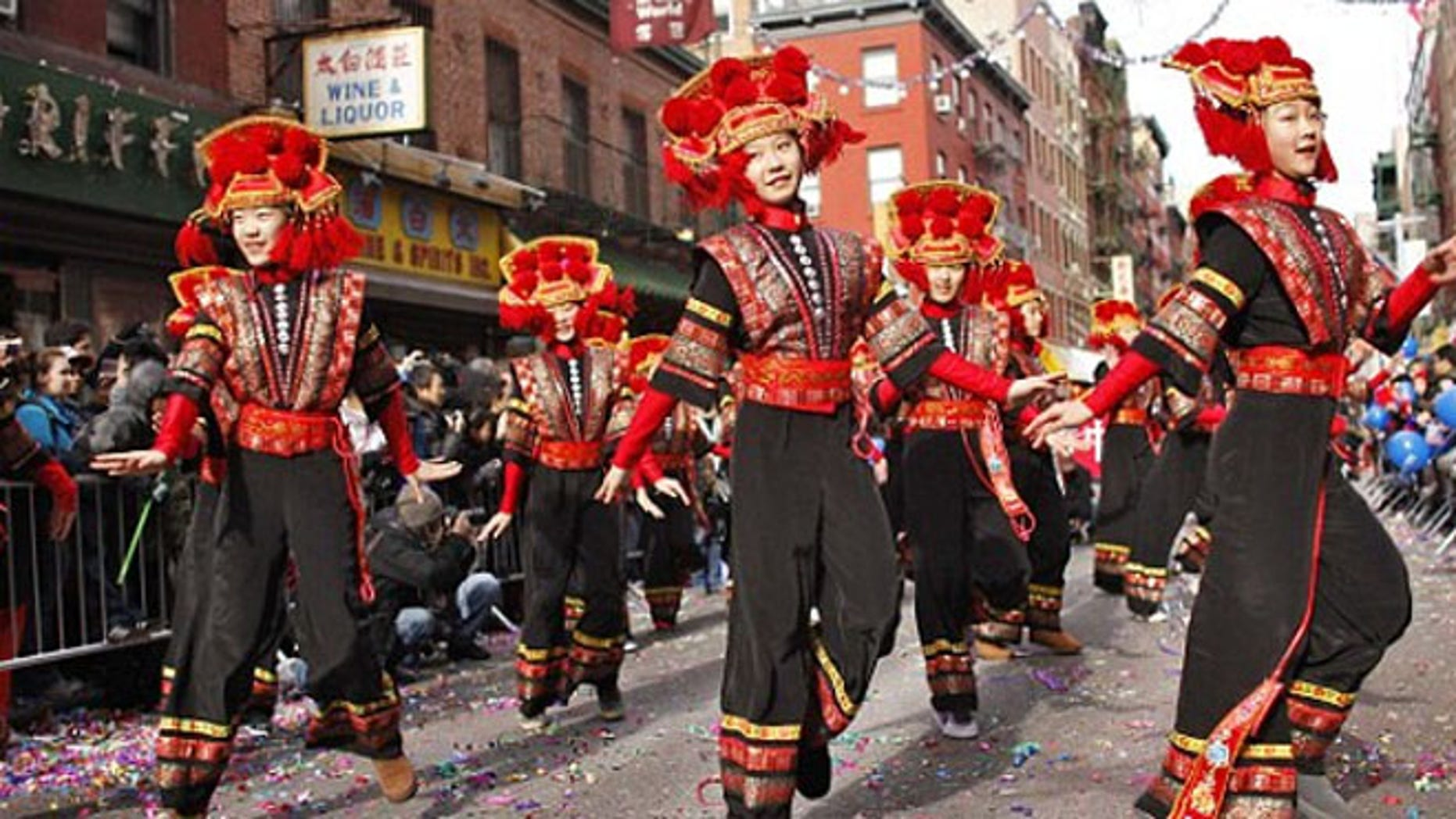 Hundreds of thousands of people head to New York City each year to watch the Chinese Lunar New Year parade in Chinatown, and a growing number of them are from mainland China.