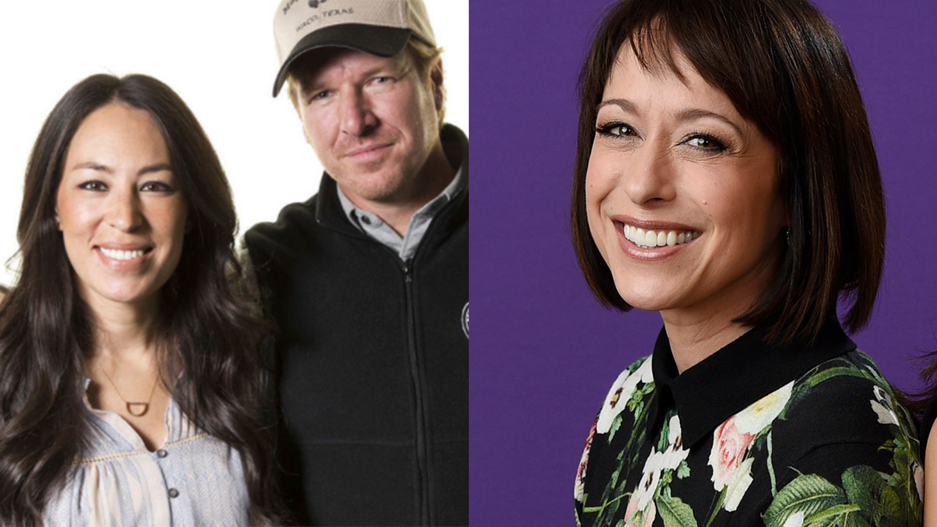 Paige Davis (right) seemed to throw shade at HGTV stars Chip and Joanna Gaines during a press tour.
