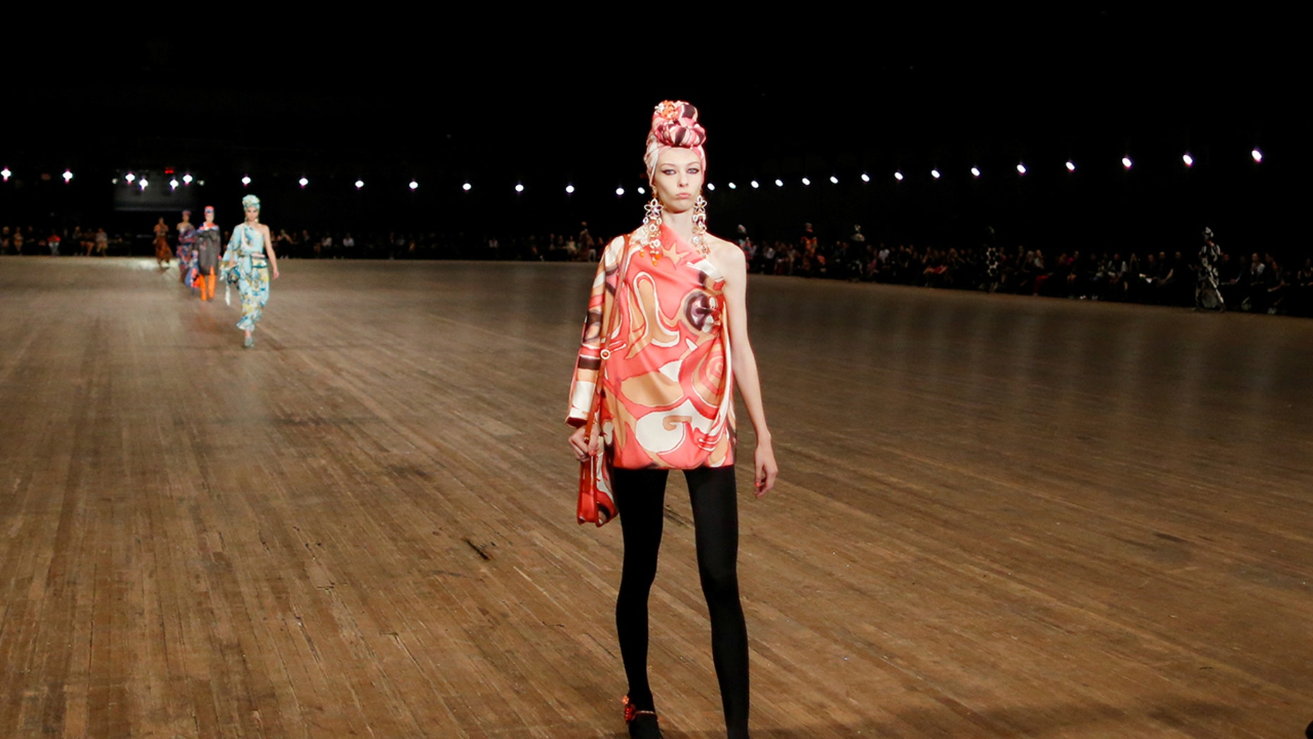 Remington Williams makes a splash at New York Fashion Week 10 days after being discovered.