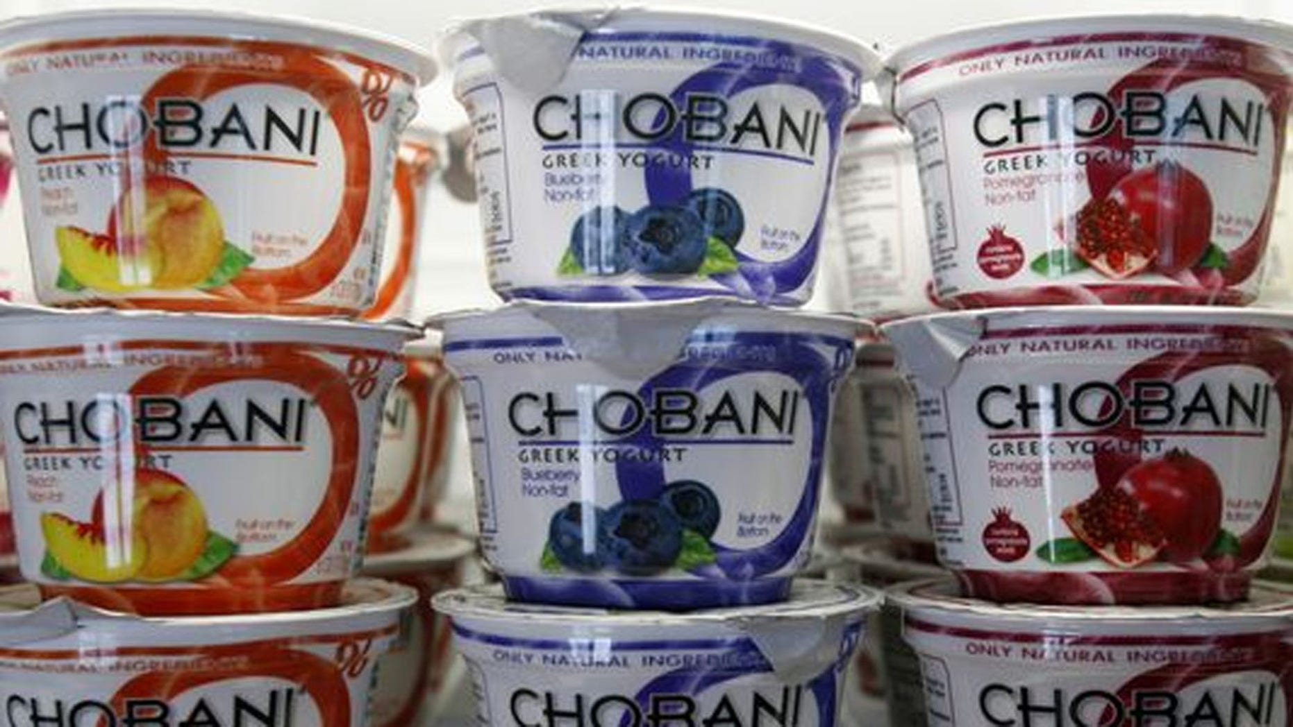 A federal judge ruled on Friday that New York-based Chobani must stop running ads that claim Dannon's rival light Greek yogurt brand contains bug spray and chlorine and is unsafe to eat.