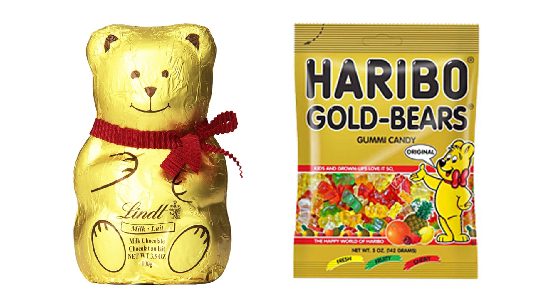 Haribo sued Lindt over its similar bear imagery.