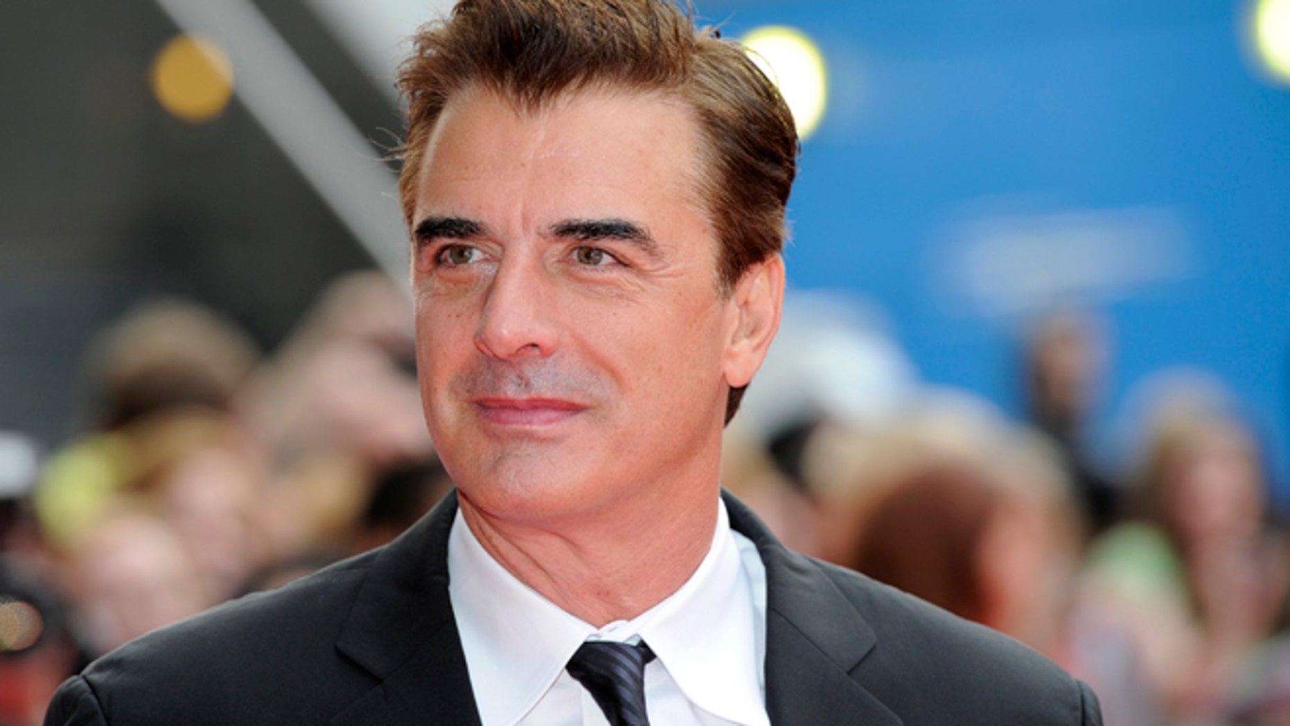 Chris Noth arrives for the National Movie Awards at the Royal Festival Hall in London May 26, 2010.