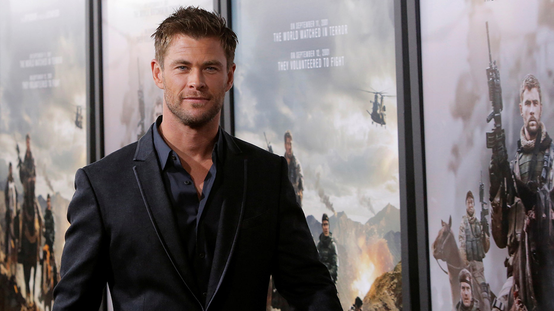 "Chris Hemsworth announced on social media on Wednesday that he's finished filming for the ""Men in Black"" reboot."