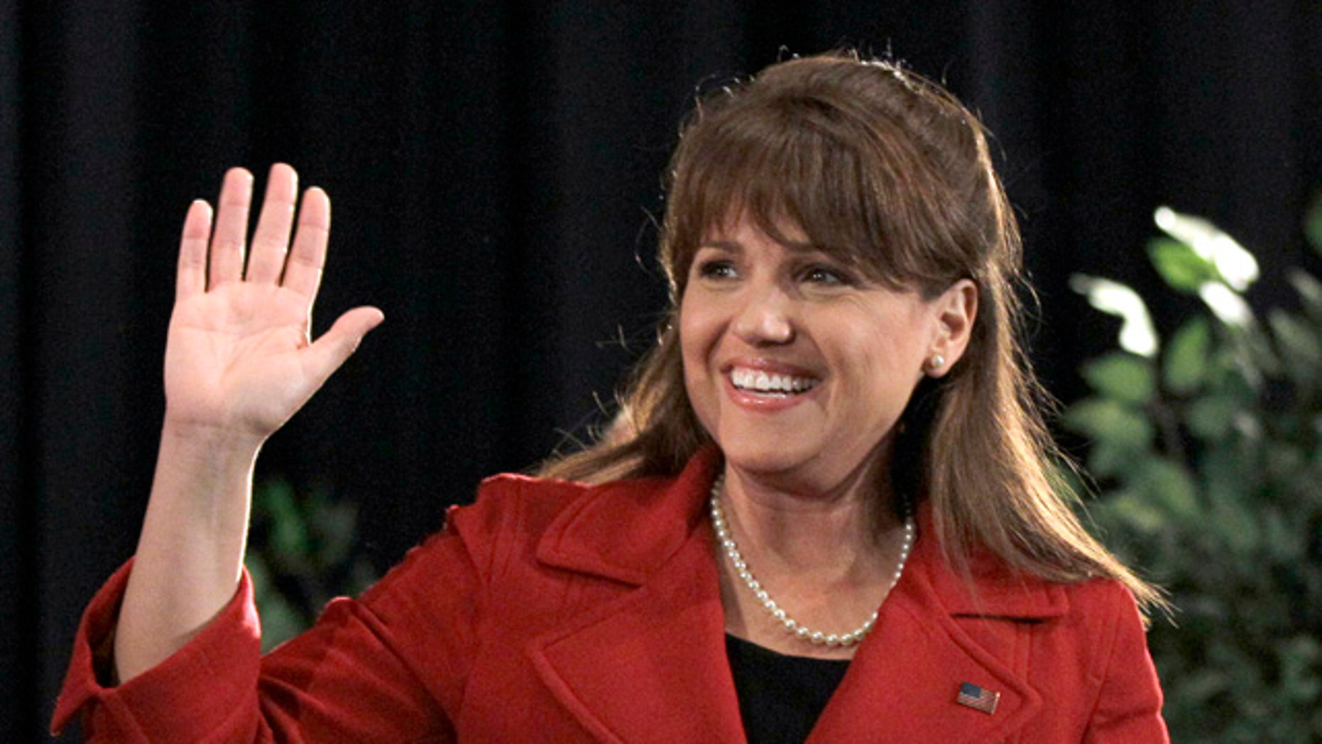 Former Delaware Senate candidate Christine O'Donnell, shown here in a Nov. 2 file photo, is forming an issues-oriented political action committee.