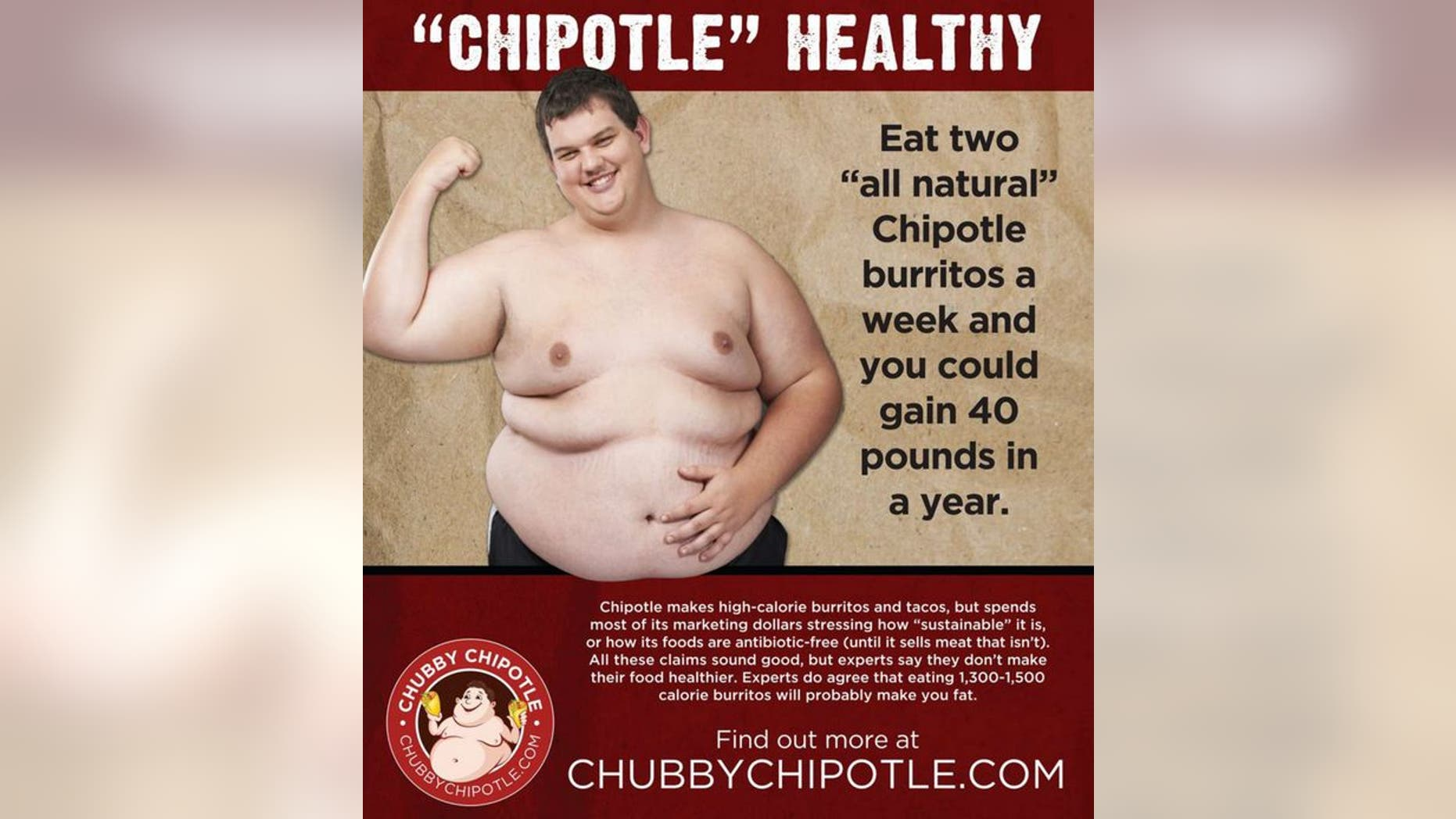 A new campaign is attacking Chipotle's carefully crafted healthy image.