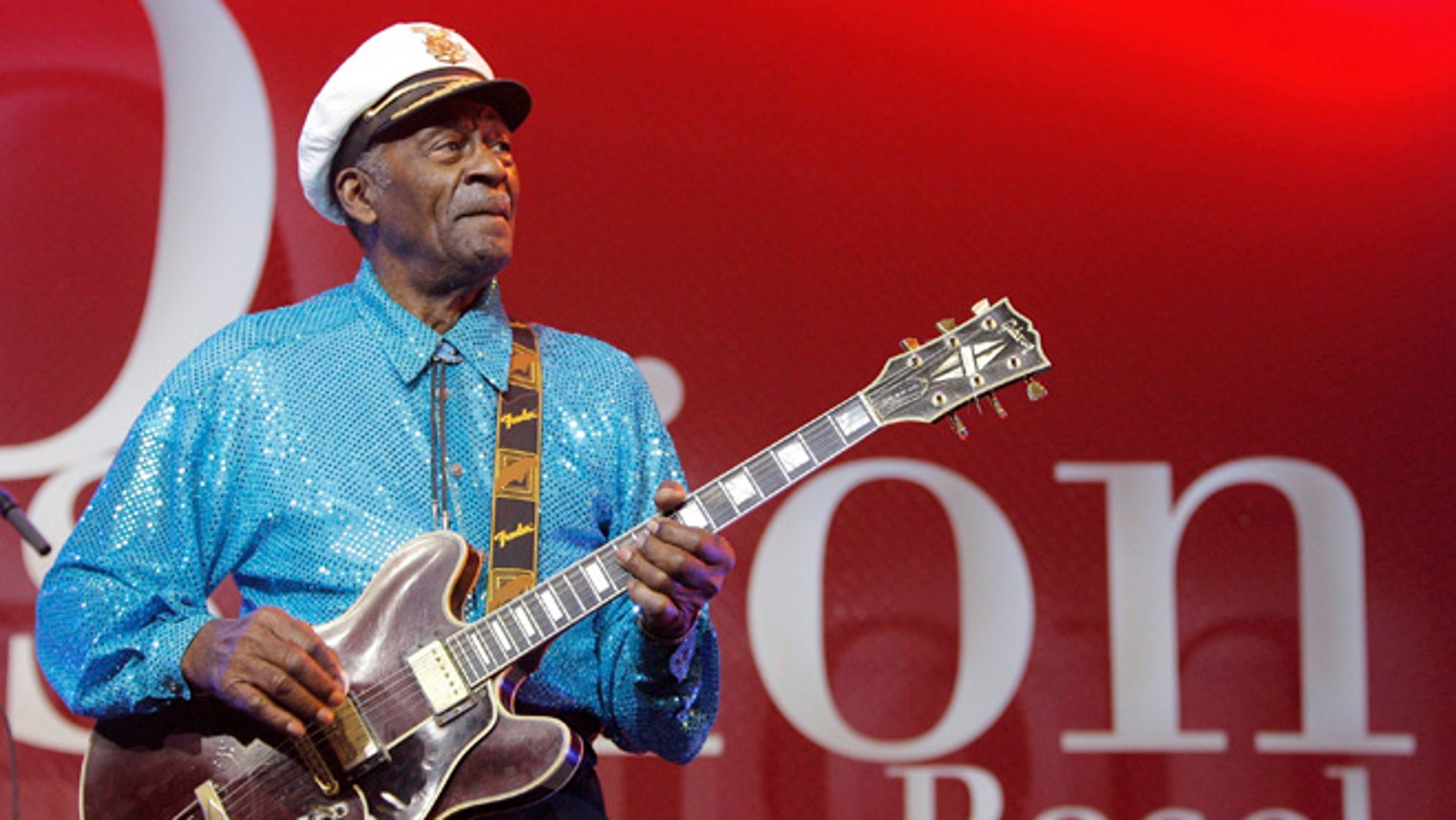 Chuck Berry was working on a new album that will be released this year.