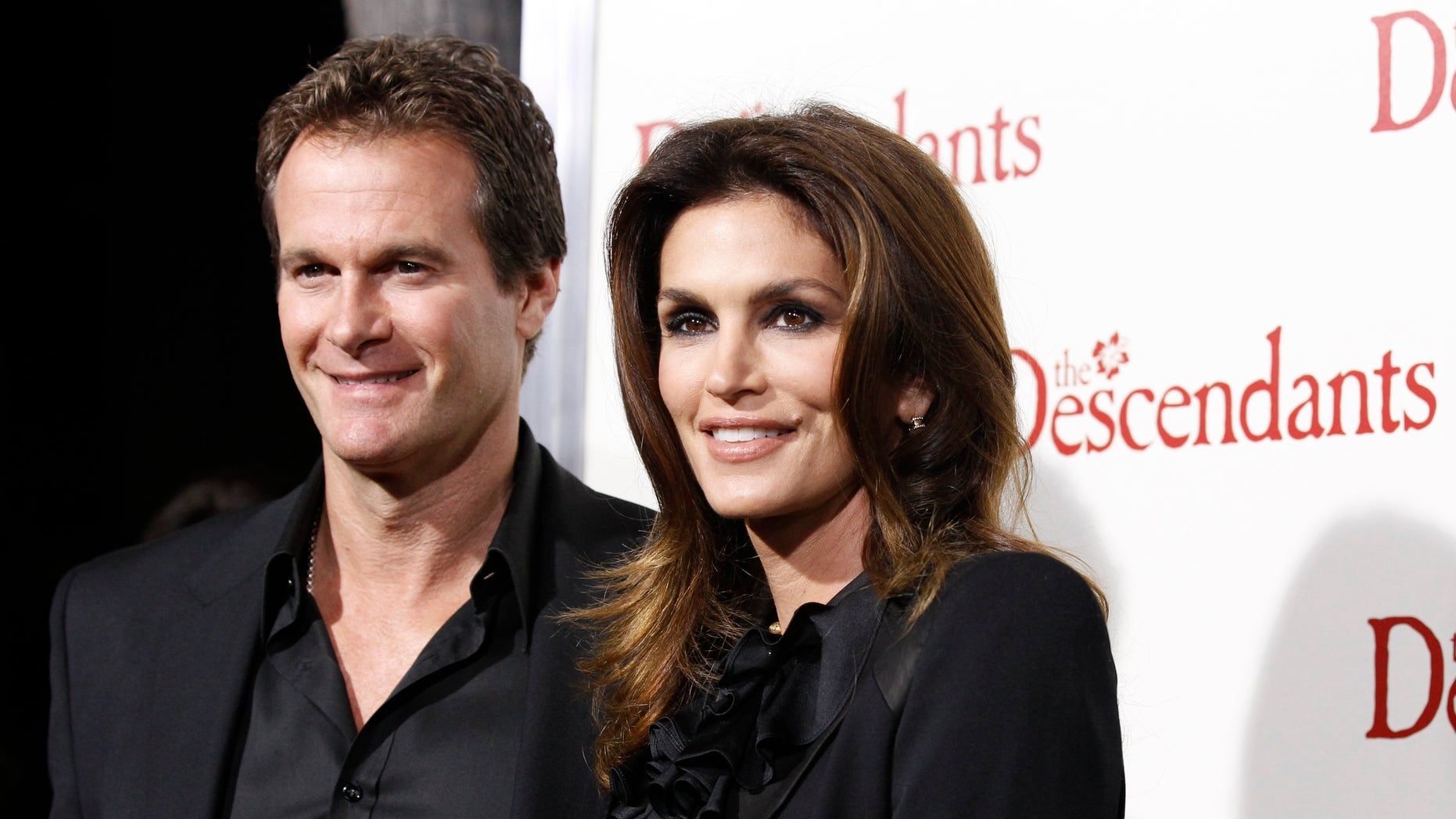 Cindy Crawford and husband Rande Gerber in 2011.
