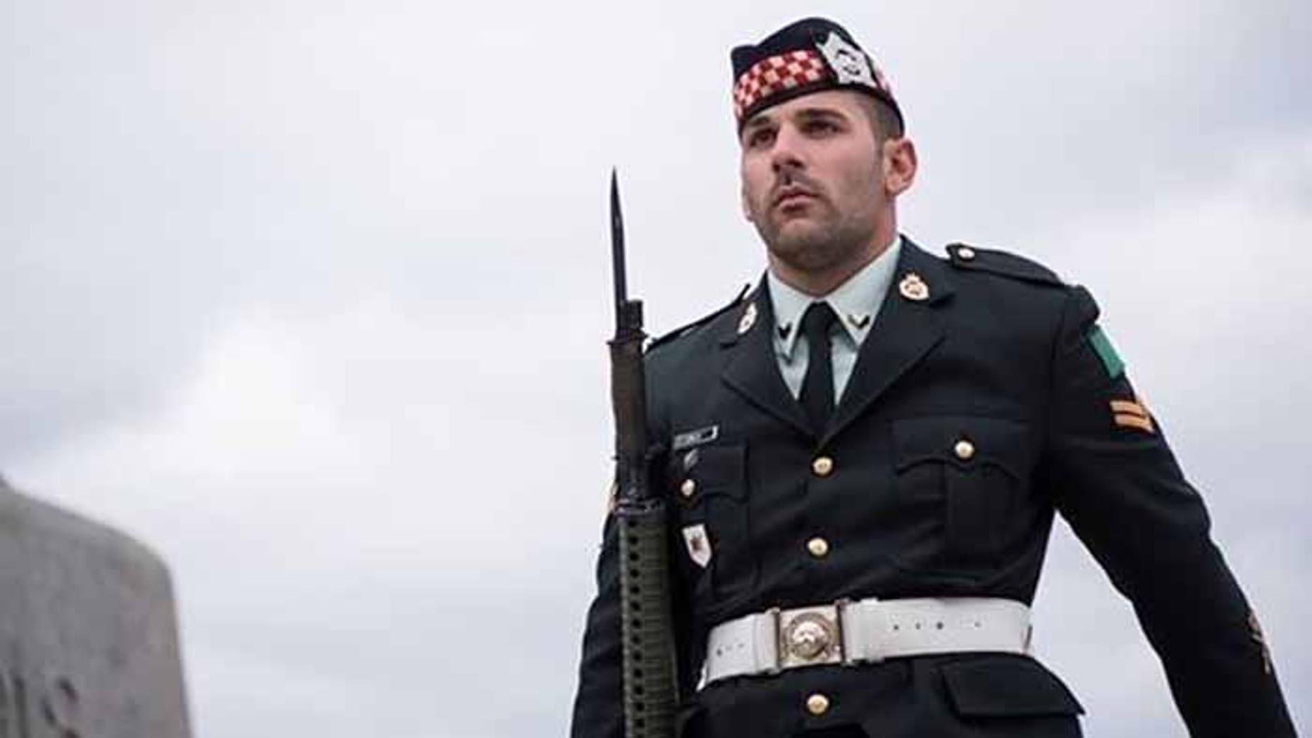 Nathan Cirillo's lifelong ambition was to protect his country.
