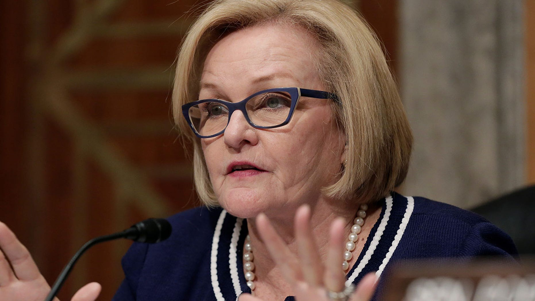 Sen. Claire McCaskill is touting an order criticizing her Republican opponent, but the order is written by a judge she recommended.