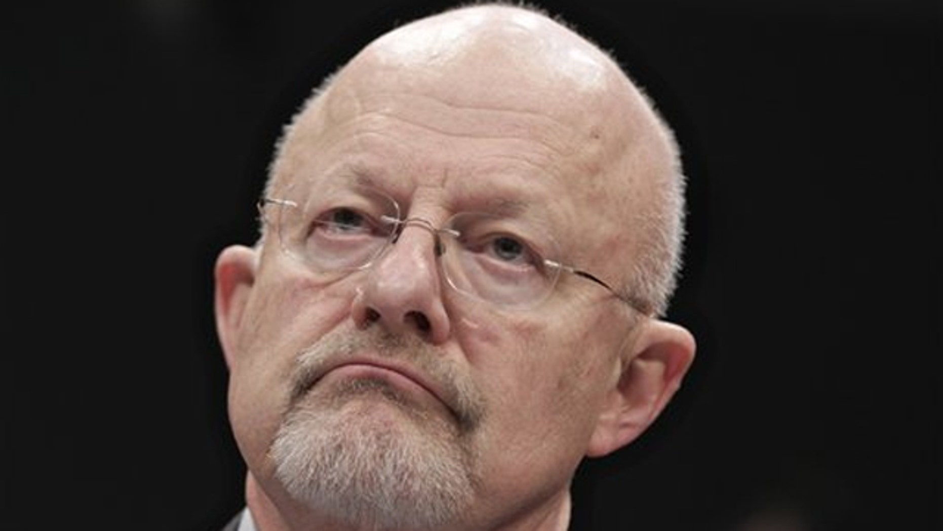 Director of National Intelligence James Clapper testifies on Capitol Hill Feb. 10 before the House Intelligence Committee.