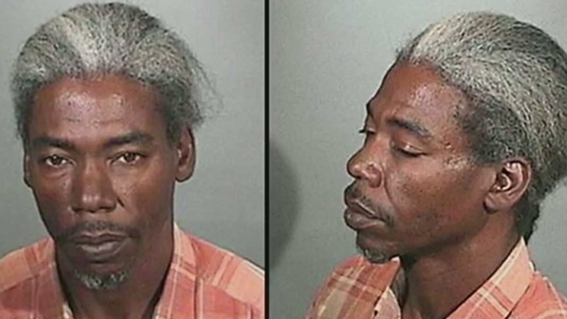 These undated photos show Clarence Dear, who was arrested Sunday, Dec. 27, 2015 and accused of murdering a woman by dousing her with gasoline and lighting her on fire two days earlier (Pomona Police Department)