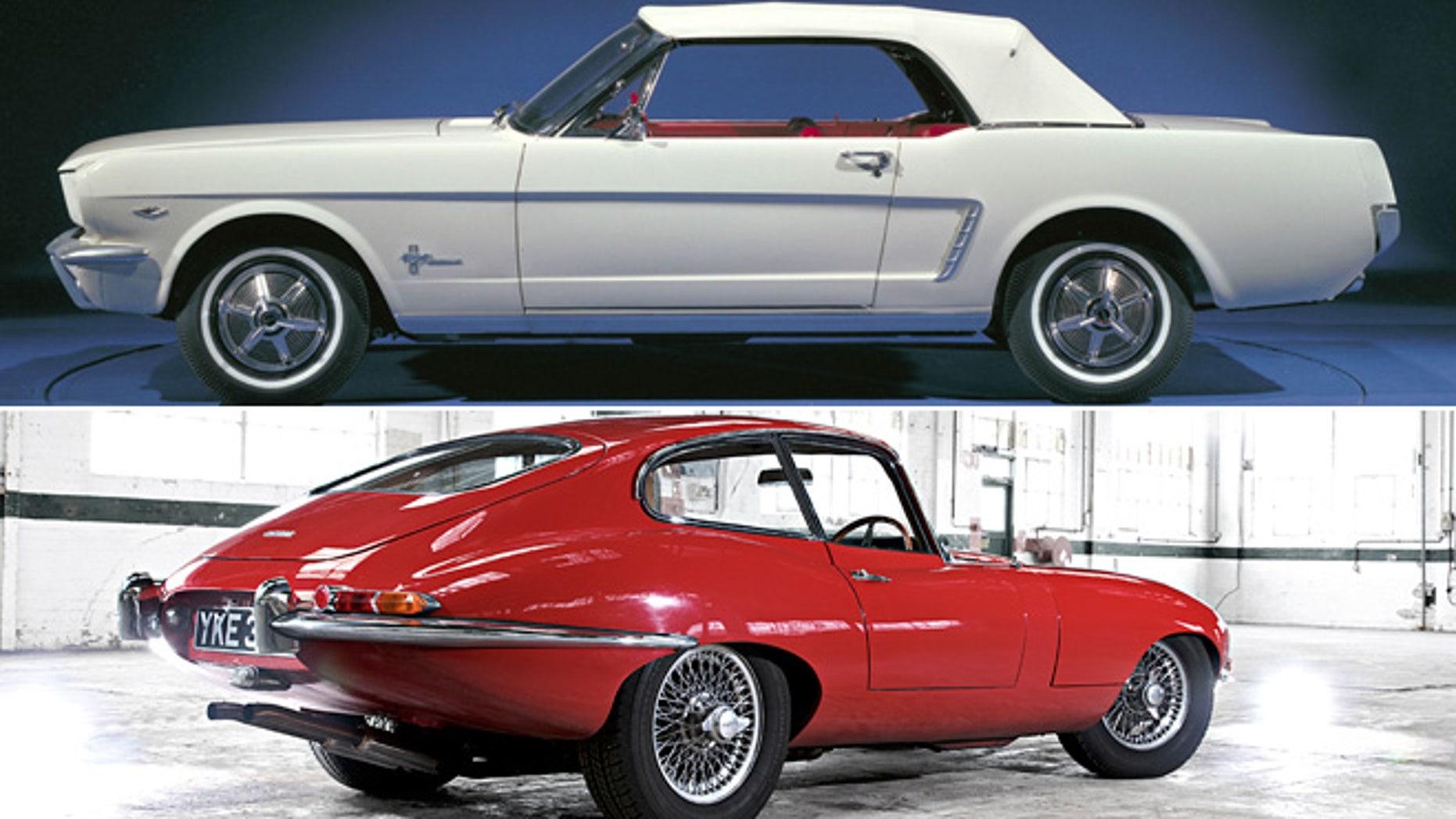 Ford Mustang/Jaguar E-Type