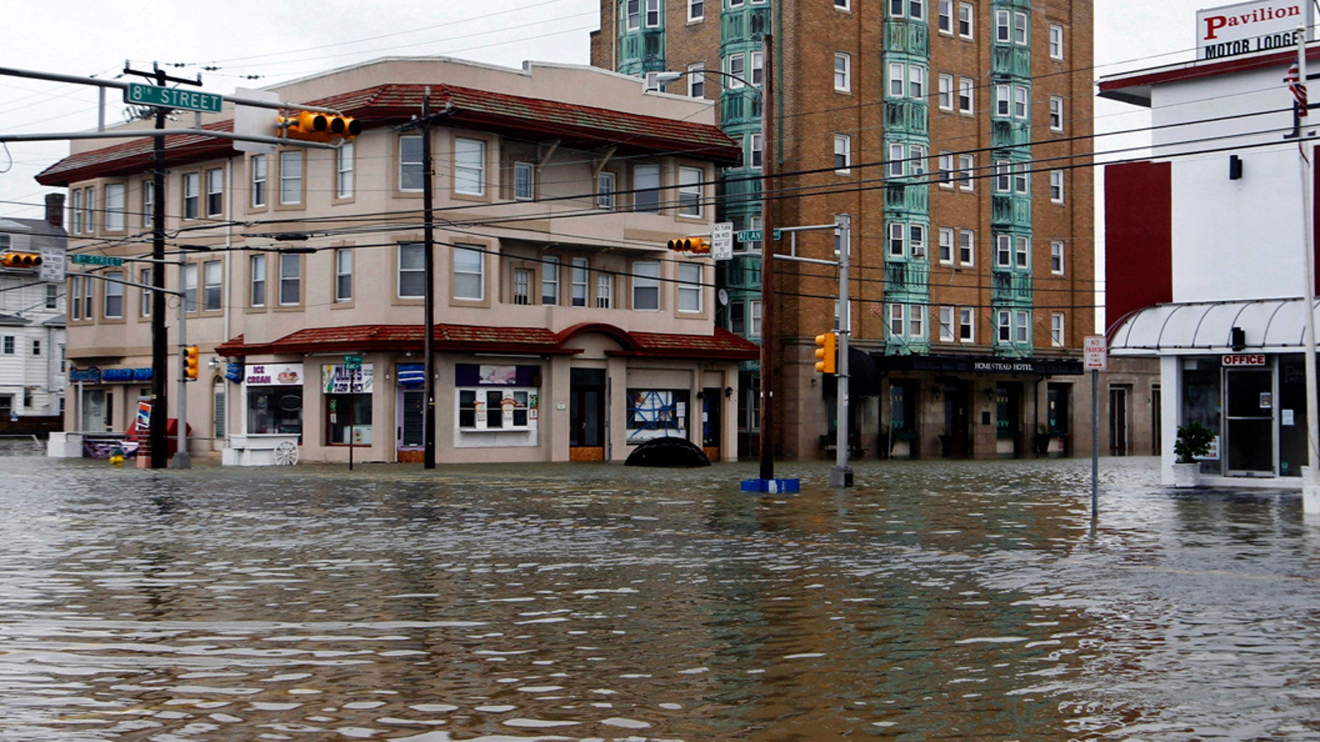 """Experts warn that climate change could lead to """"devastating tsunamis."""" (AP Photo/Mel Evans, File) (Copyright 2018 The Associated Press. All rights reserved.)"""