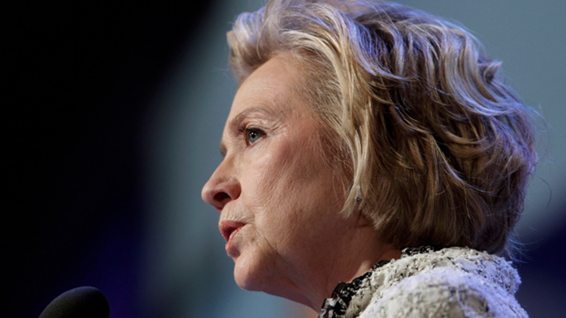 Sept. 25, 2013: Hillary Rodham Clinton speaks at the Clinton Global Initiative in New York.