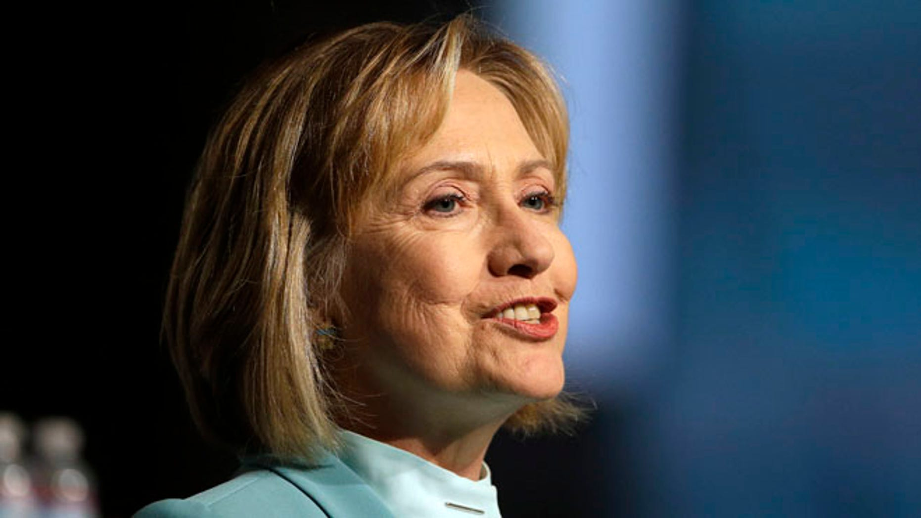 Aug. 12, 2013: Former Secretary of State Hillary Clinton speaks to the American Bar Association Annual Meeting.