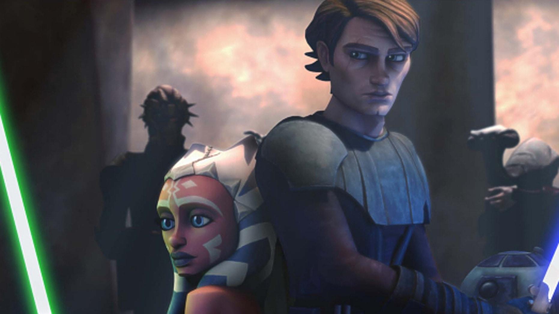 'Star Wars: Clone Wars.' (Lucasfilm)