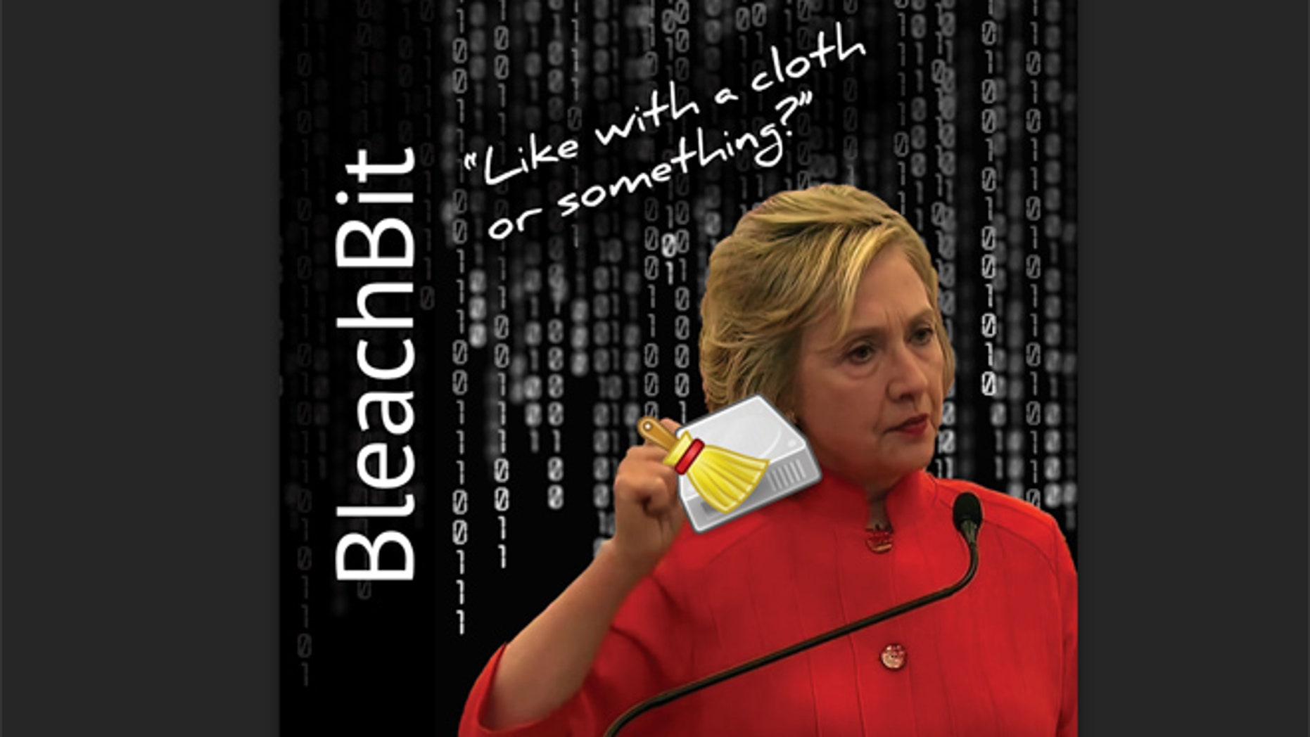 """The """"Cloth or Something"""" sold by BleachBit."""