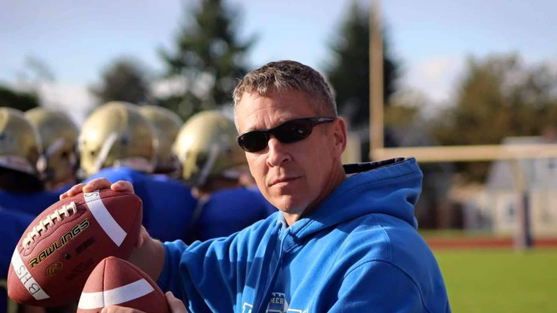 Bremerton High School football coach Joe Kennedy (Courtesy Liberty Institute)