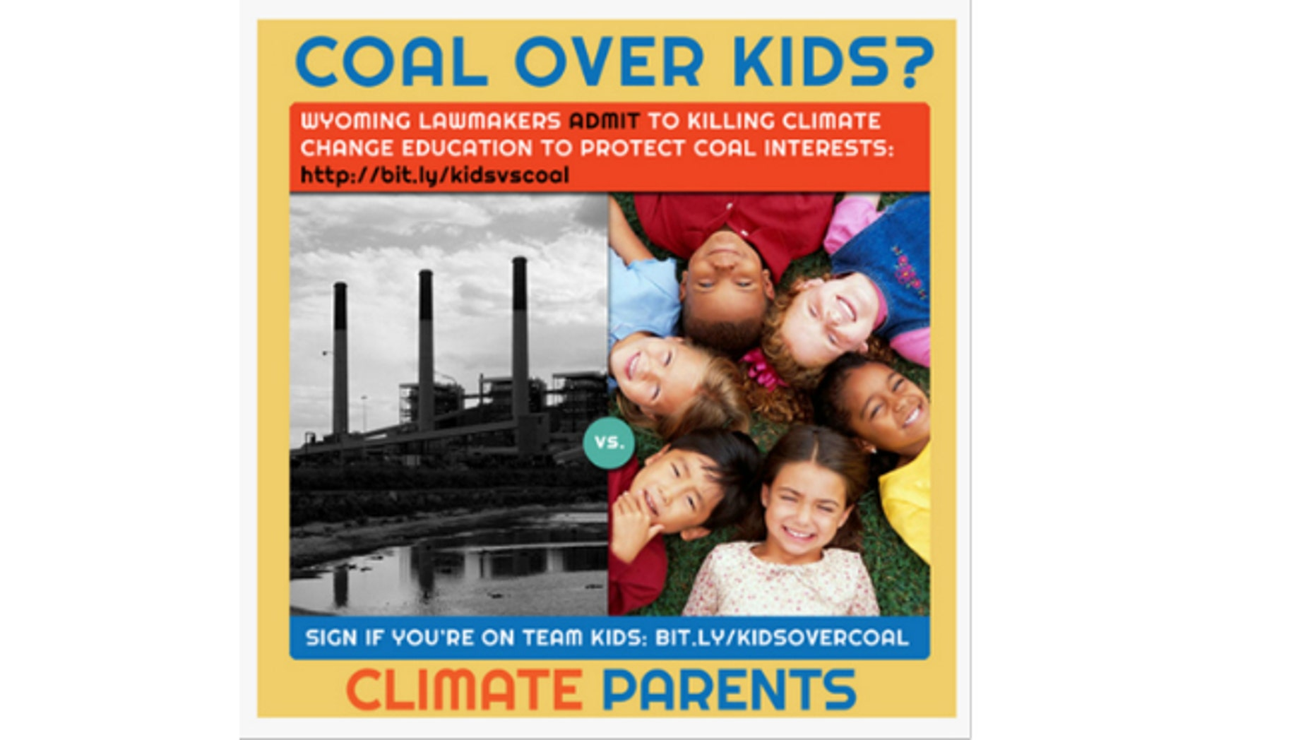 """Climate Parents, which has 38,000 members nationally and aims to motivate parents """"from every walk of life"""" to take action against climate change, has mounted an aggressive campaign in Wyoming after lawmakers blocked the state's board of education from adopting a science curriculum that regards man-made climate change as a fact. (ClimateParents.org)"""