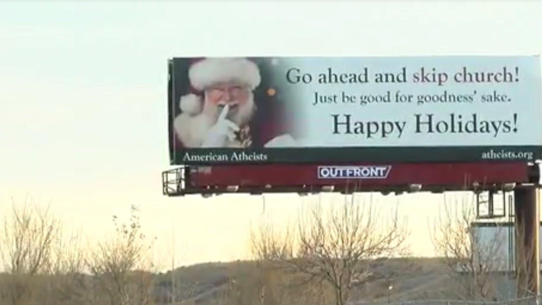 Billboard in Colorado Springs.