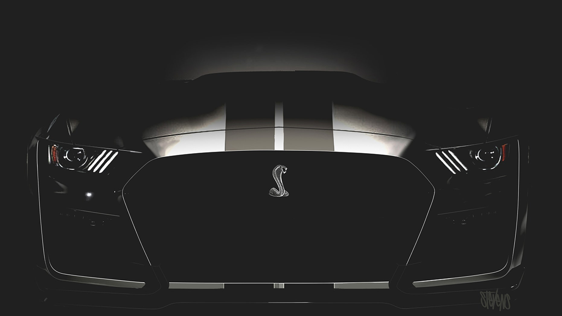 Best Look Yet At The 2019 Ford Mustang Shelby Gt500 Fox News