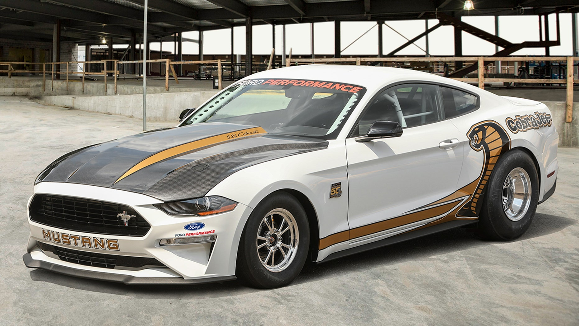 130g ford mustang cobra jet is the quickest most expensive pony car ever