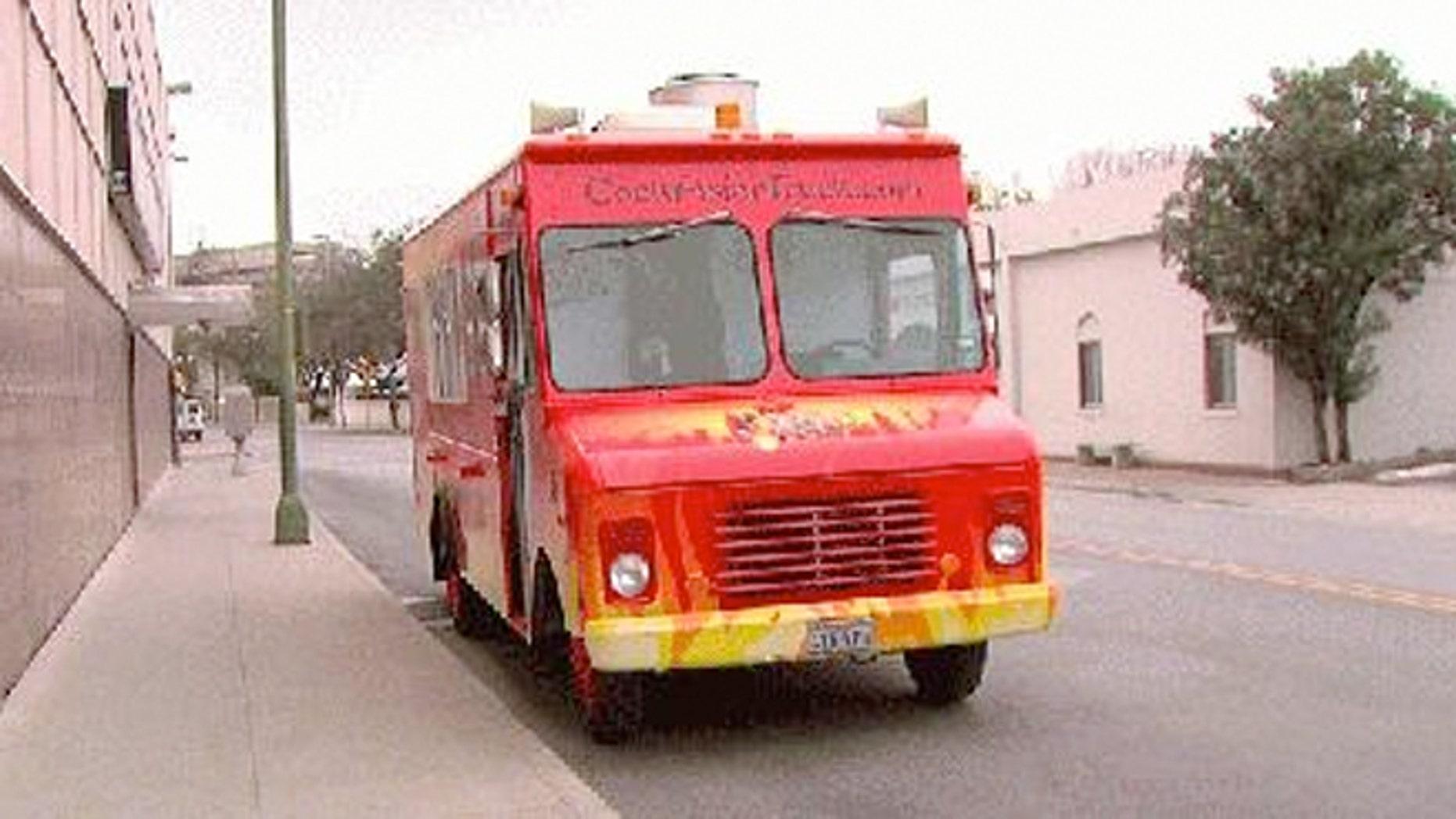 Port San Antonio officials have banned CockAsian, a spicy Korean food truck.
