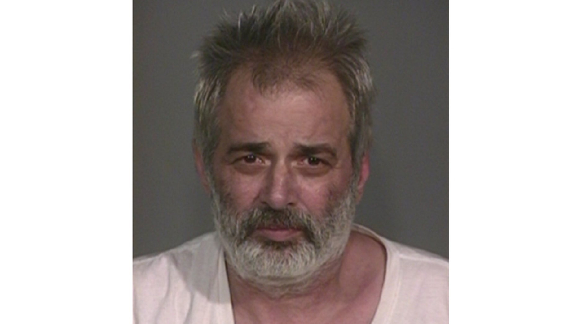 UNDATED: This Indianapolis Metropolitan Police Department booking photo shows Michael Ackerman.