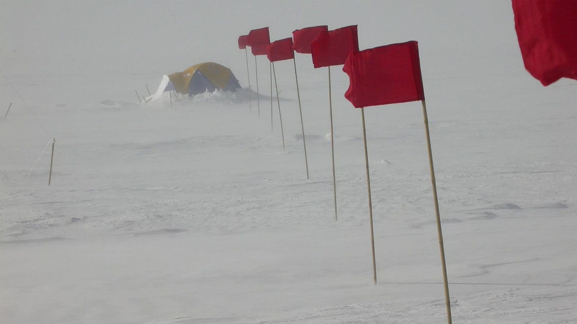 Summer at Vostok Station in Antarctica is still plenty cold, but winter atop the East Antarctic Plateau is as cold as it gets on Earth. Credit: Ted Scambos, NSIDC/University of Colorado-Boulder