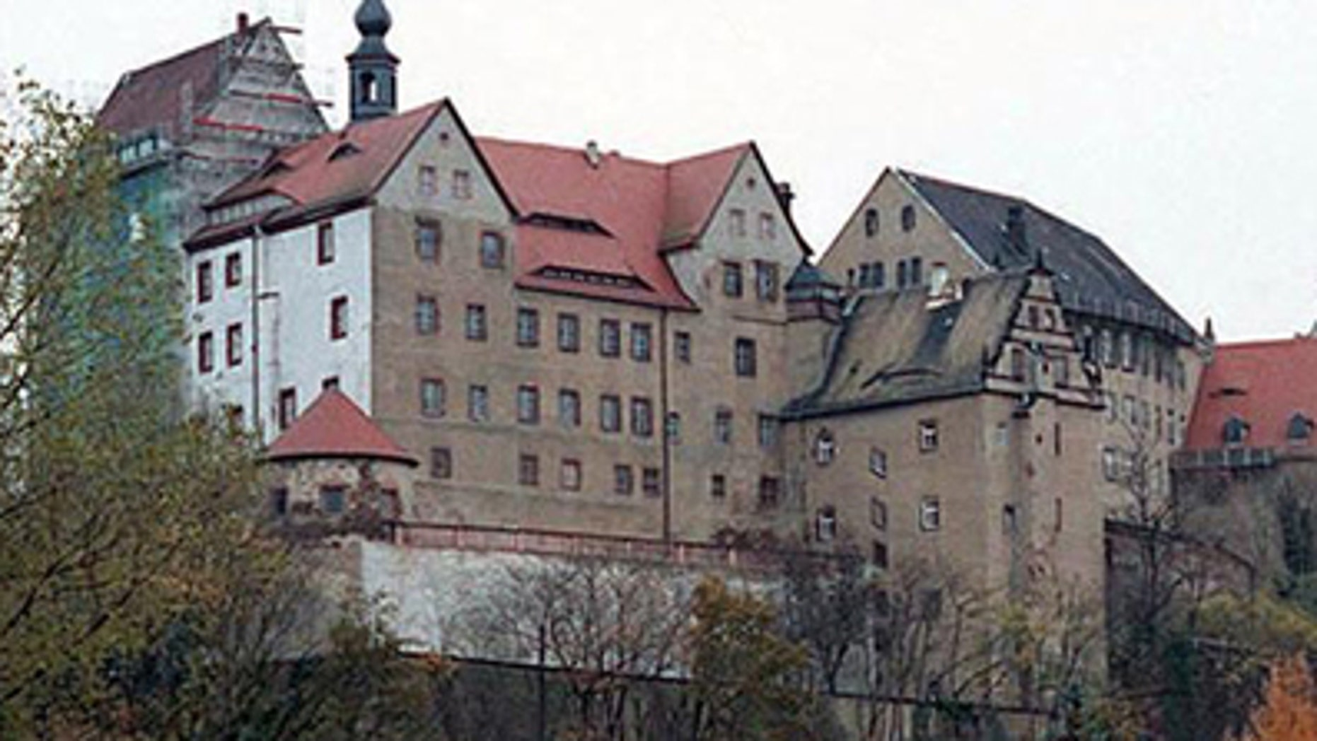 Colditz Castle in Colditz, Germany.