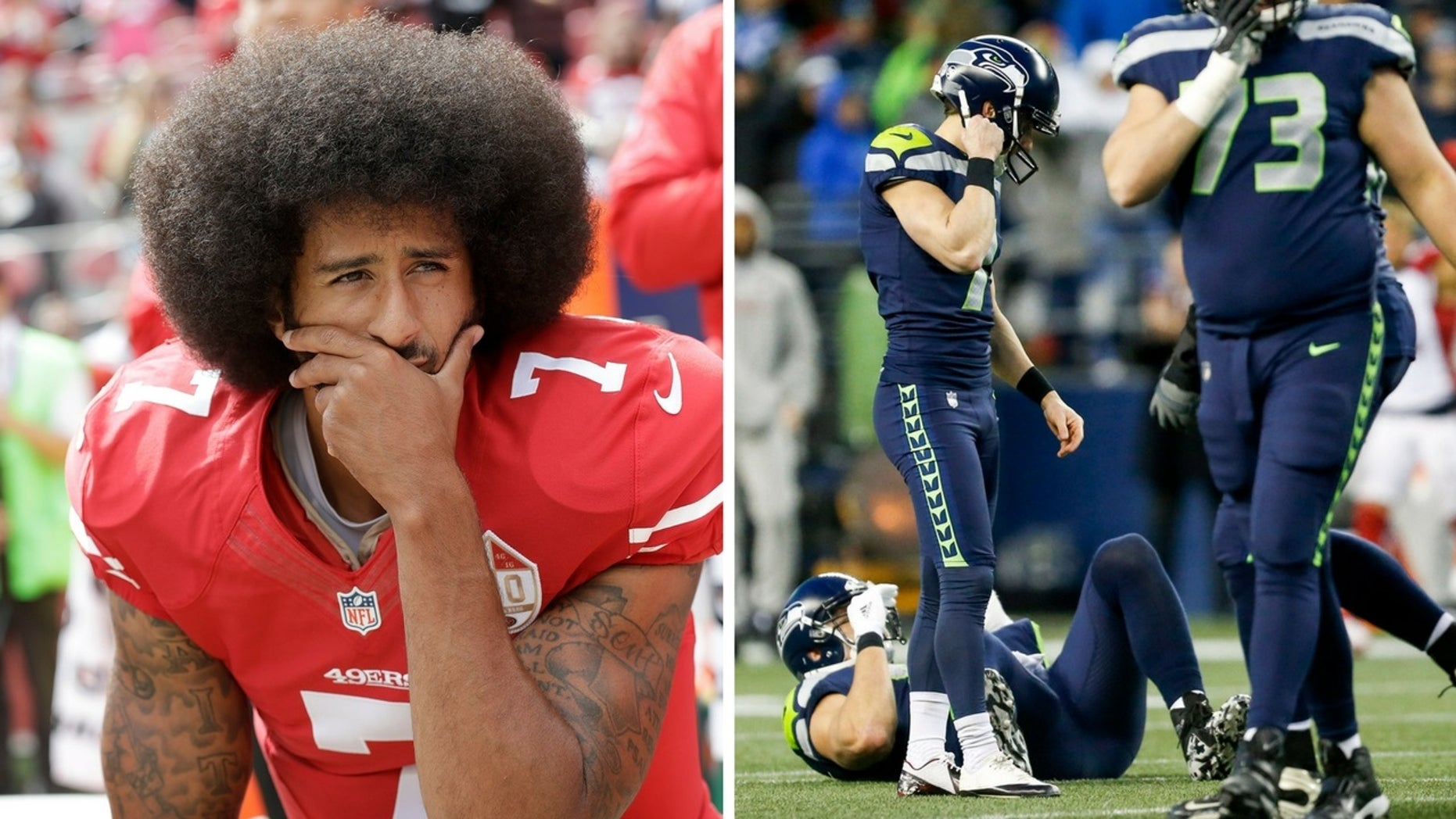 Colin Kaepernick was reportedly snubbed by the Seattle Seahawks after he declined to say if he would stop his national anthem kneeling protests.