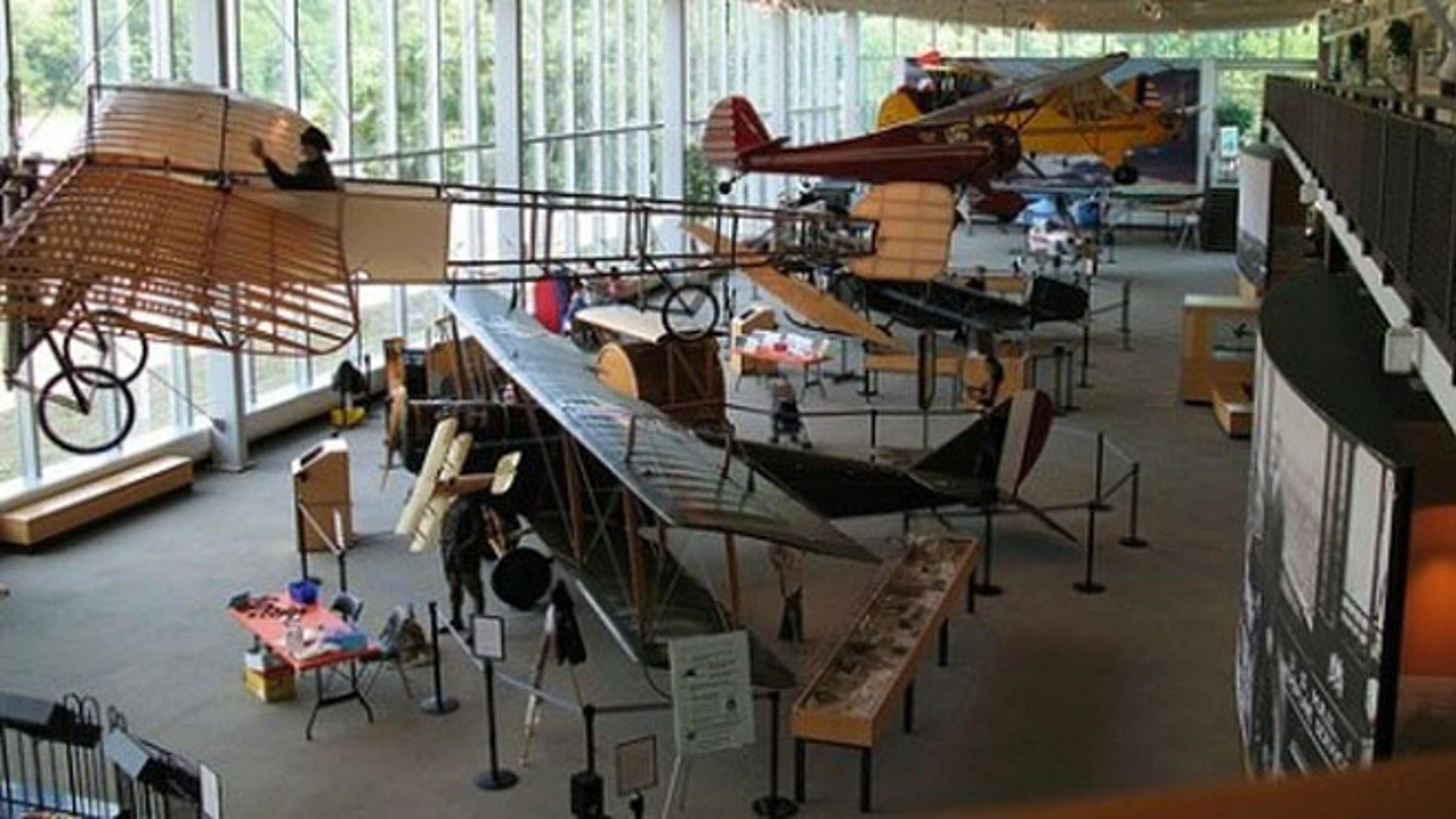 College Park Aviation Museum is near the College Park Airport, the world's oldest continuously operating airport.
